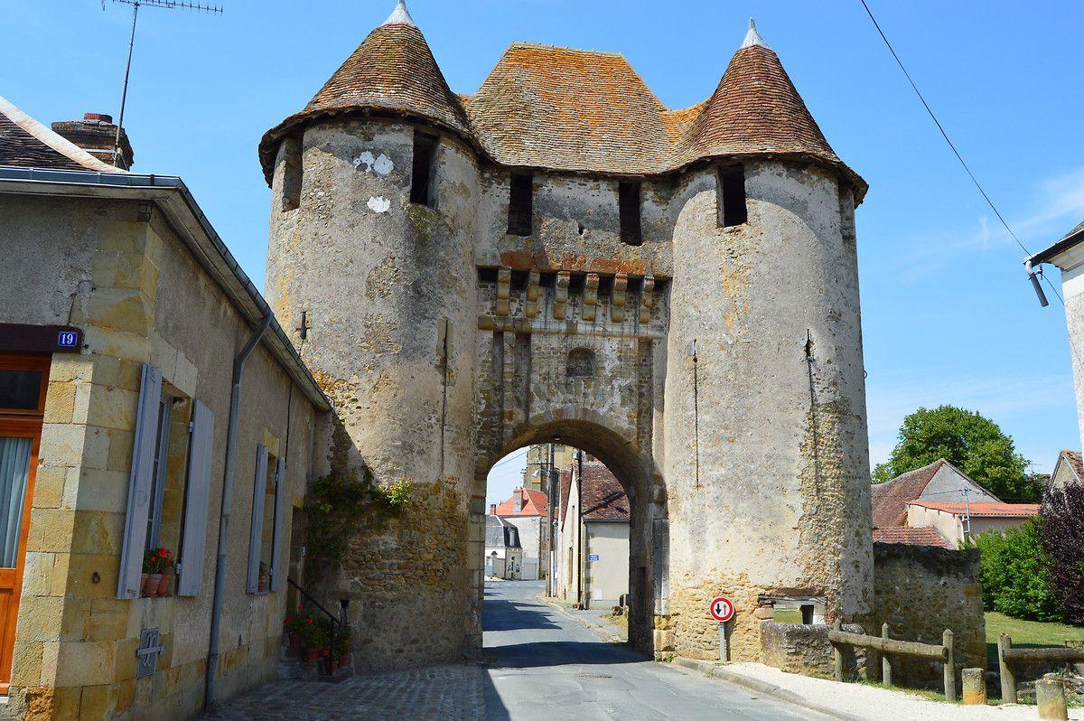 Porte de Champagne à Levroux