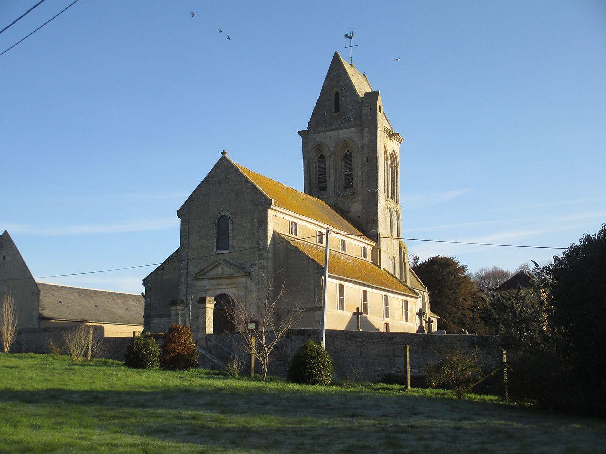 Eglise Saint Laurent de Villiers-le-Sec - Calvados