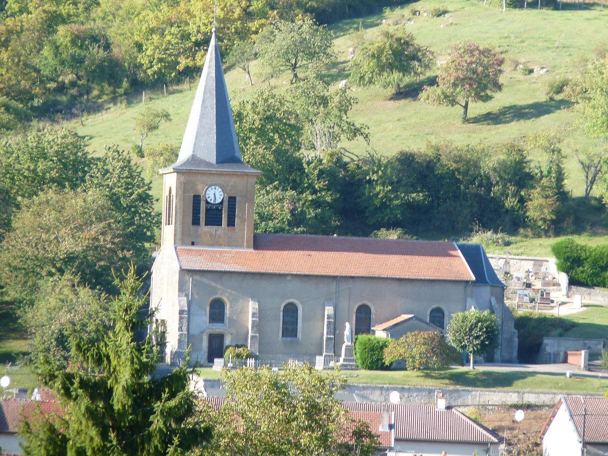 Eglise Saint-Pierre-aux-Liens de Réville-aux-Bois en Meuse