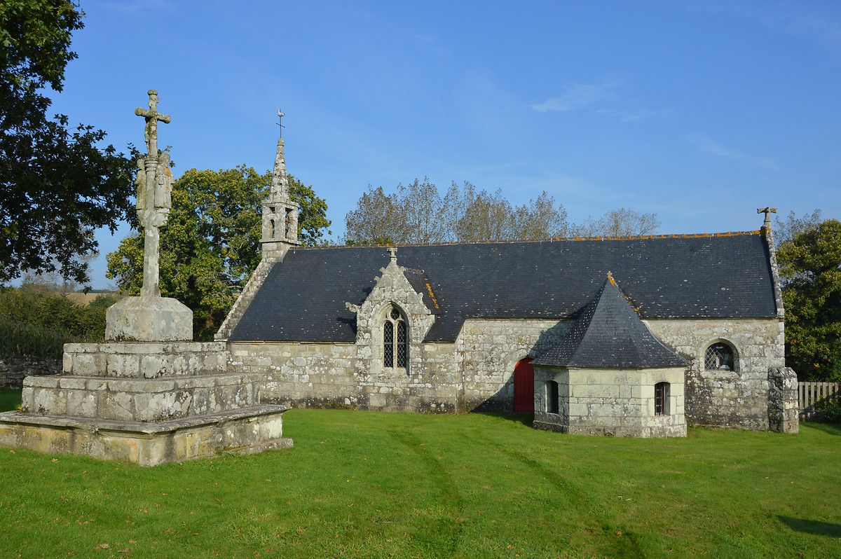 Chapelle de Trolez à Briec dans le Finistère