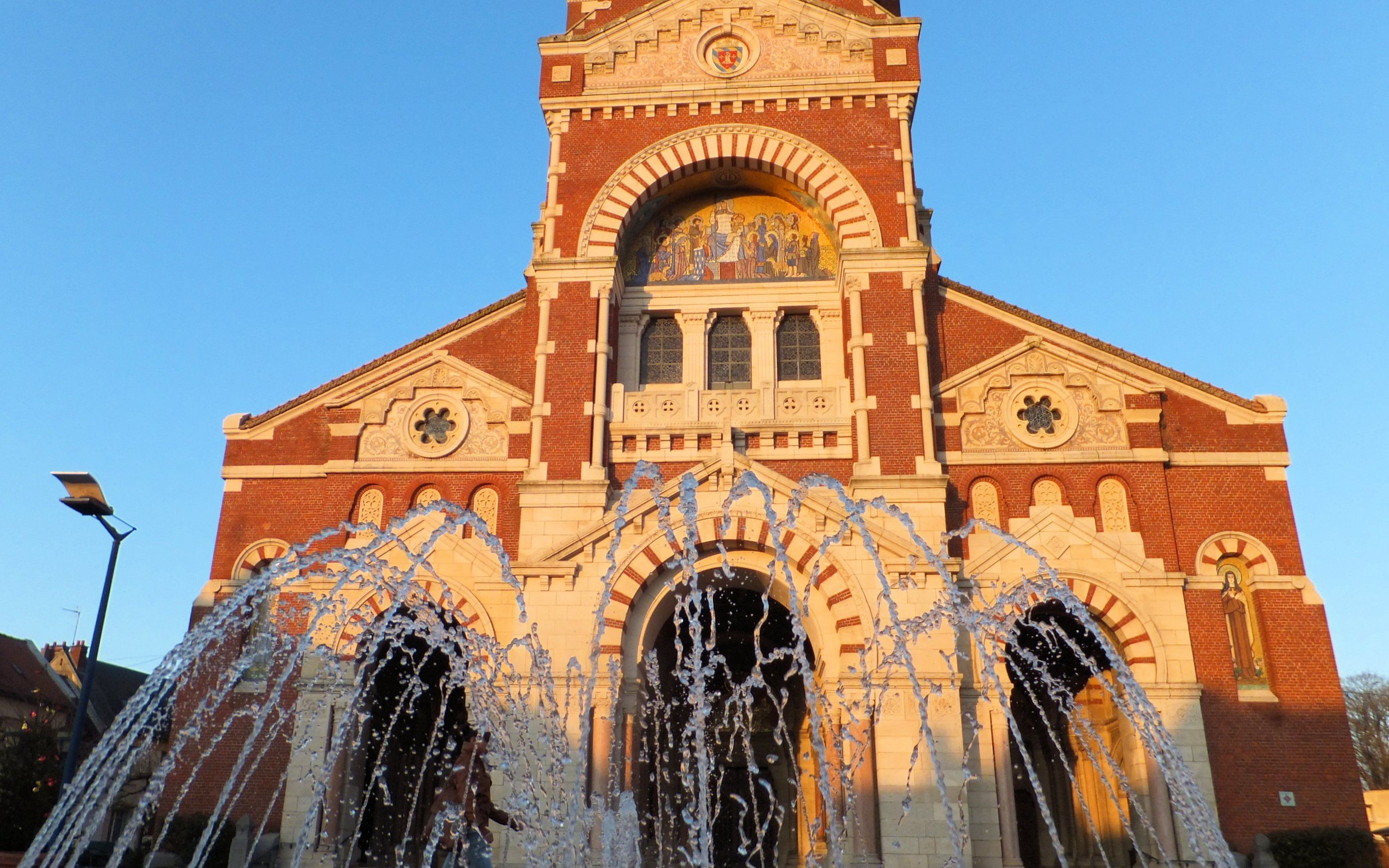 Basilique Notre-Dame de Brebières à Albert