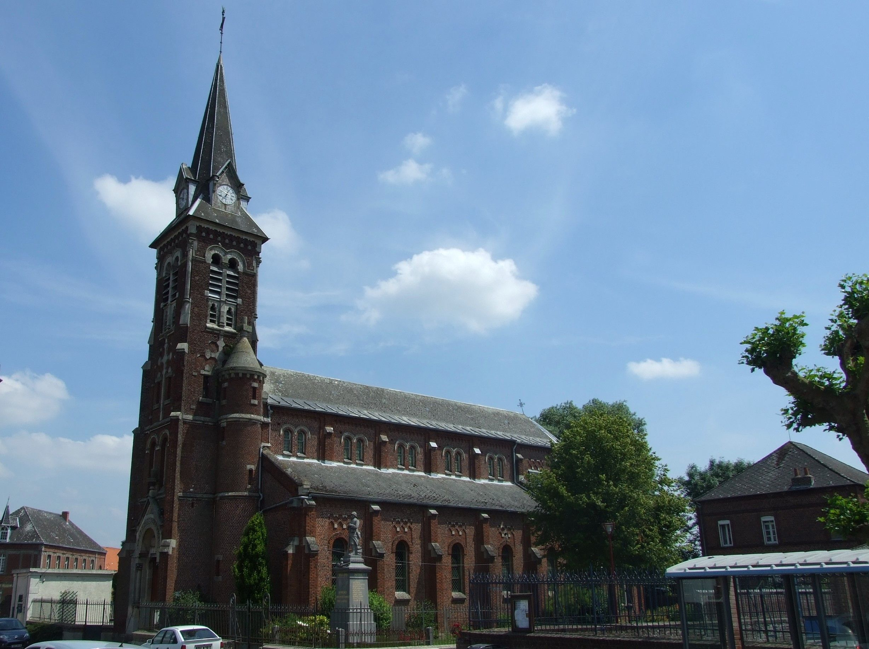 Eglise Saint-Côme et Saint-Damien de Sepmeries dans le Nord