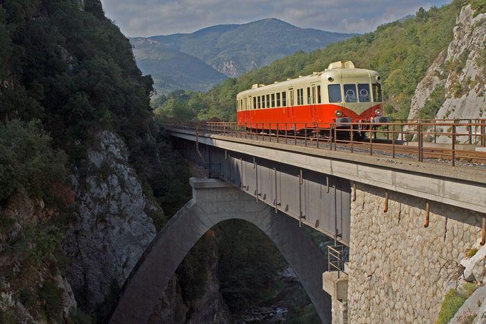Autorail X203 à Riom-es-Montagne