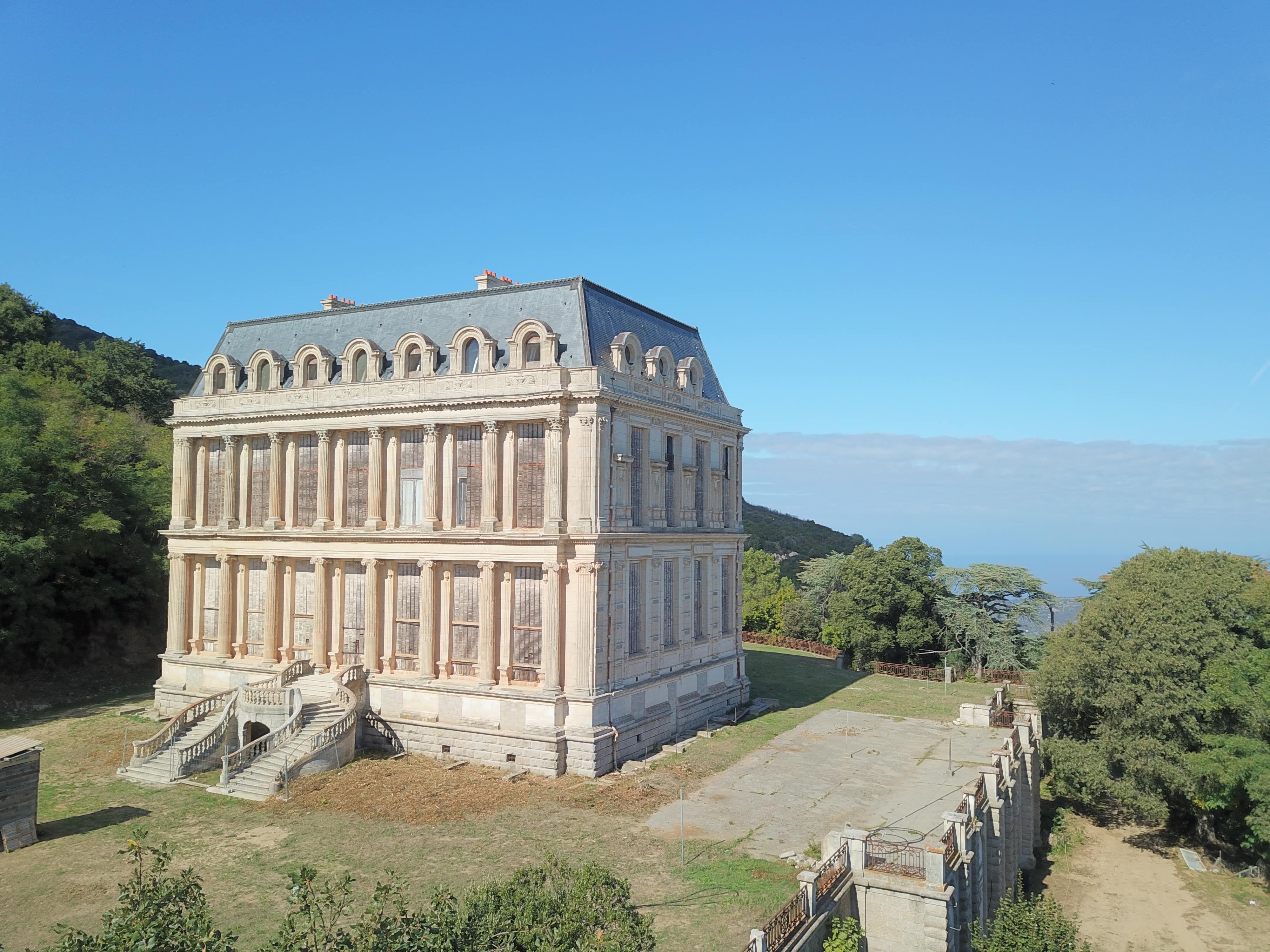 Restauration du château de La Punta