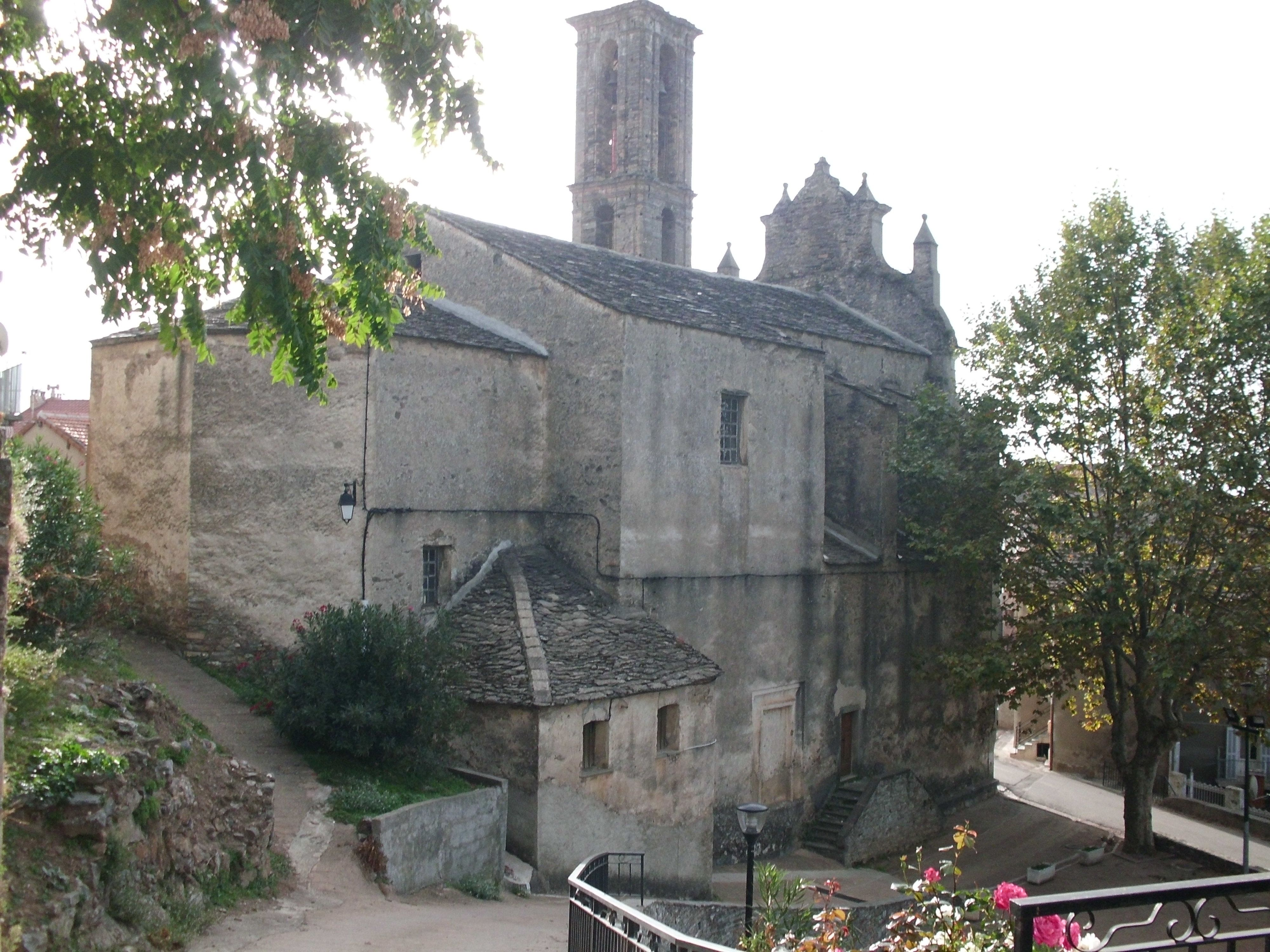 Restauration de l'église de Piedicorte