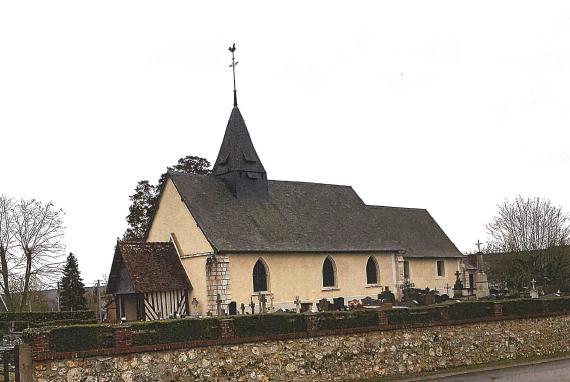L'église Saint-Ouen de Freneuse-sur-Risle