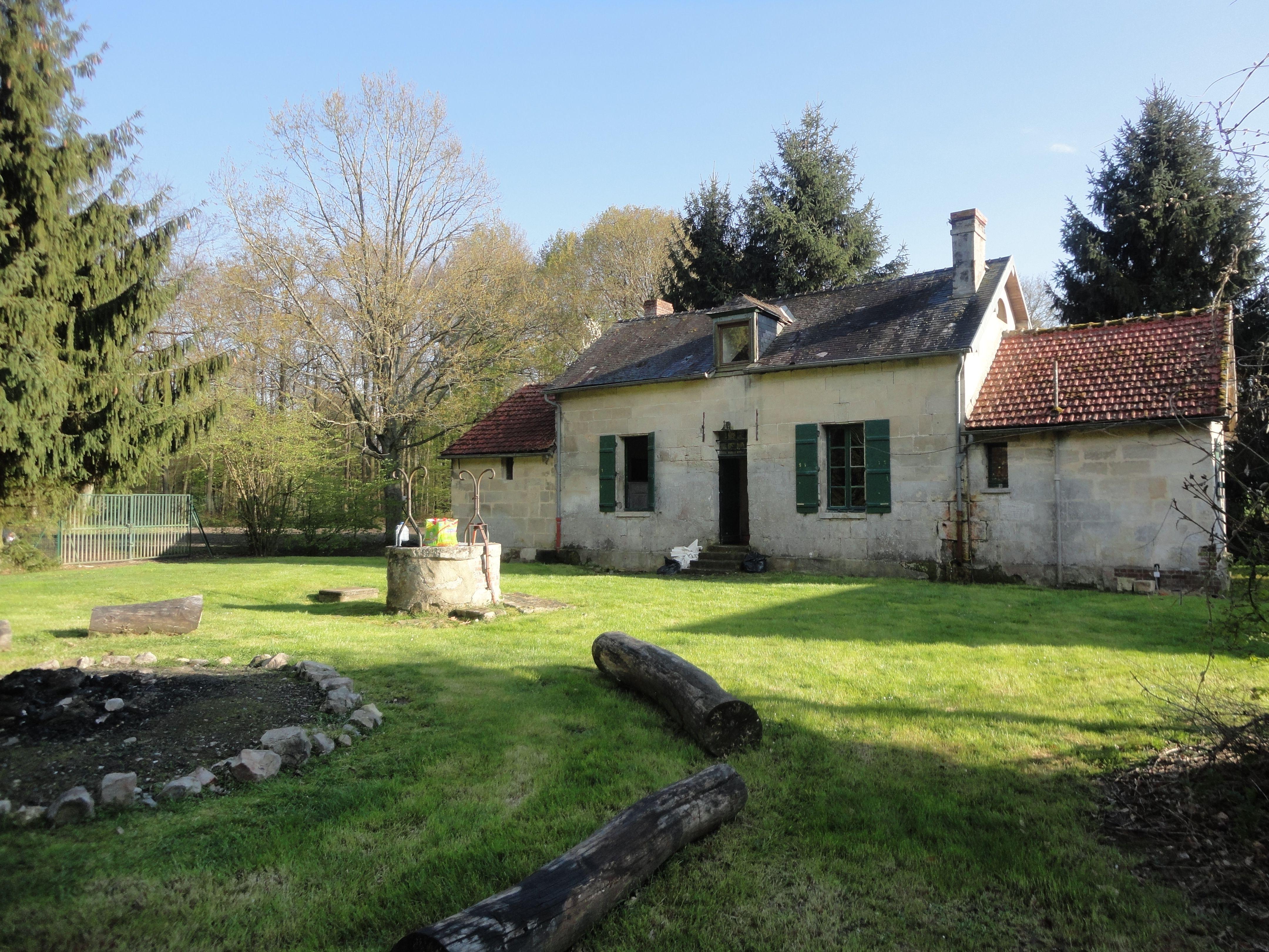 Maison forestière du Fournet à Coyolles