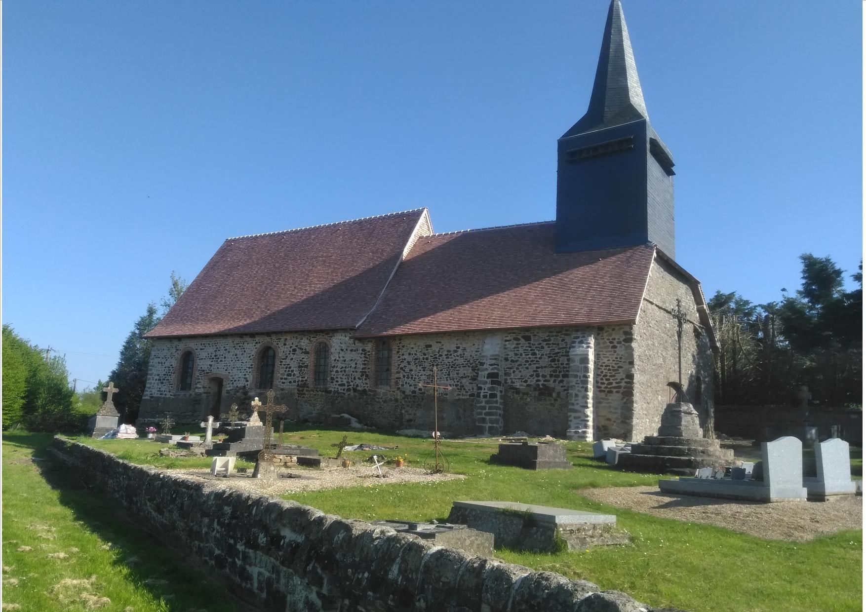 Eglise Saint-Jean-Baptiste des Noyers à Gaillefontaine