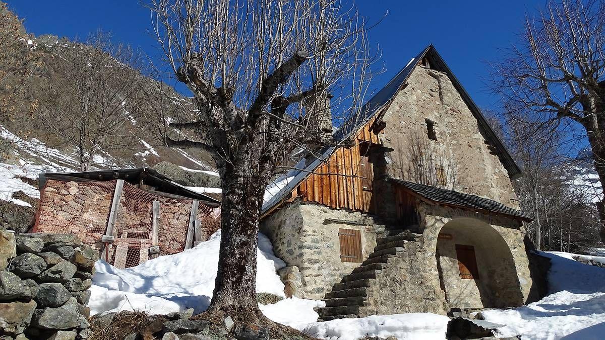 La chapelle du Rif du Sap- La chapelle en Valgaudemar