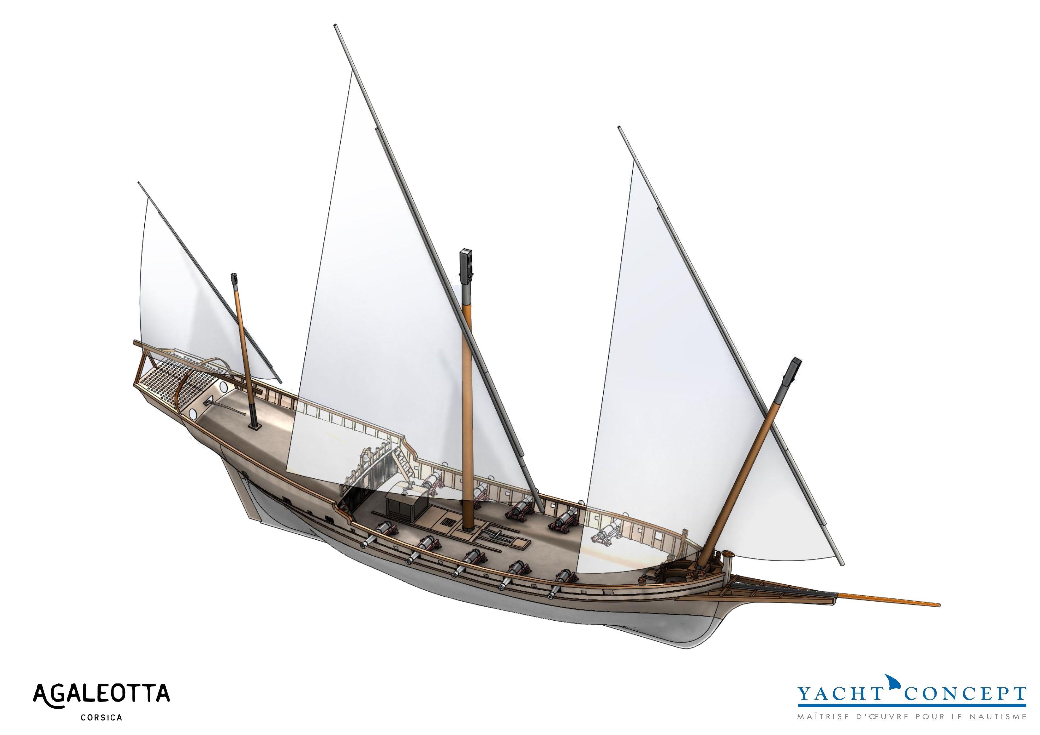 Reconstruire le navire « La Galeotta » à Bastia