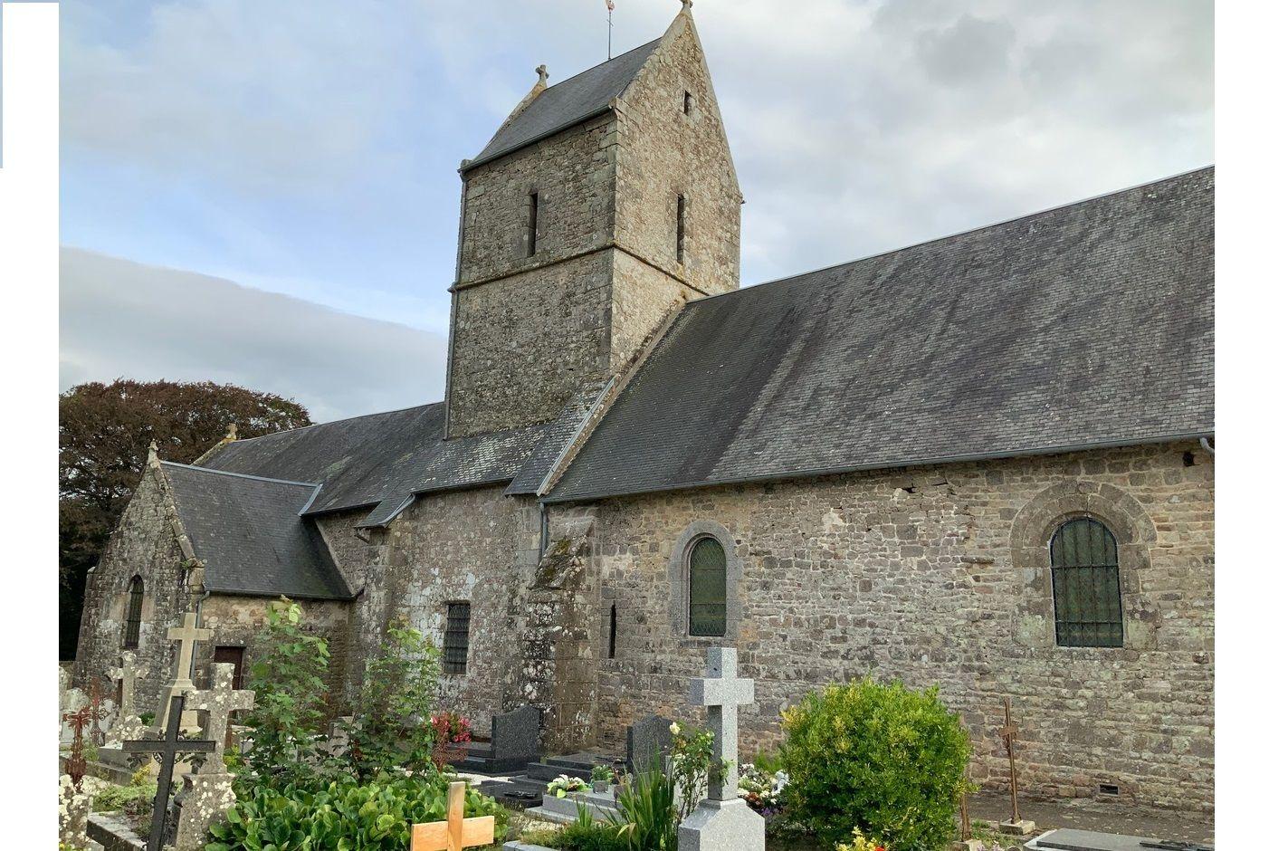Cloche de l'église de la Rochelle Normande