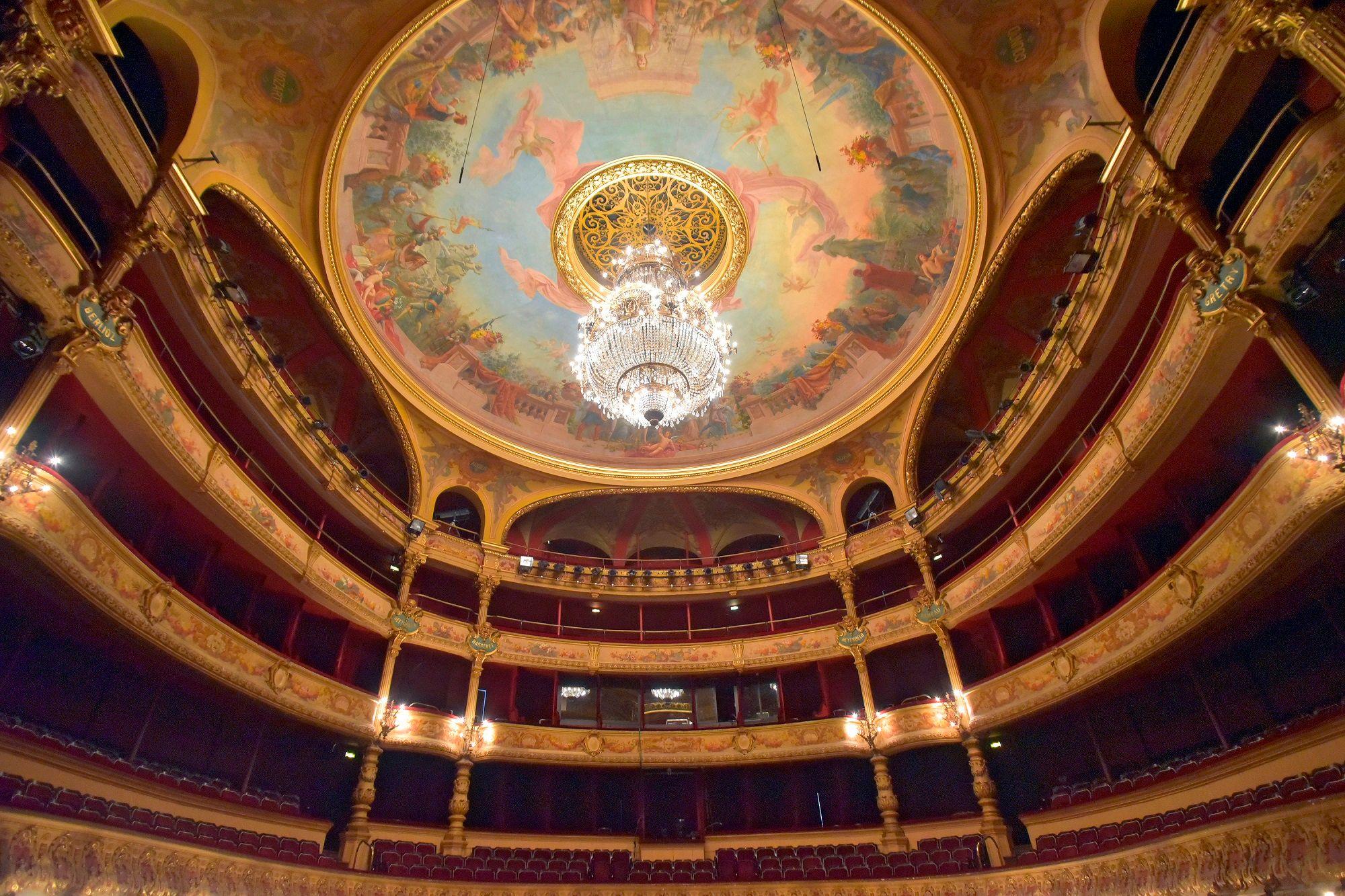 Les peintures de l'Opéra de la Comédie à Montpellier