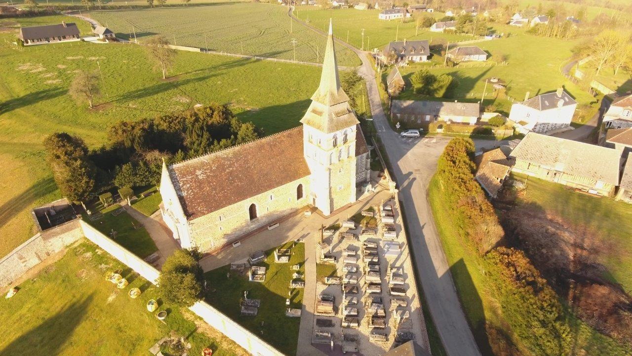 Église Saint-Martin de Fontaine la Sore à Nassandres-sur-Risle