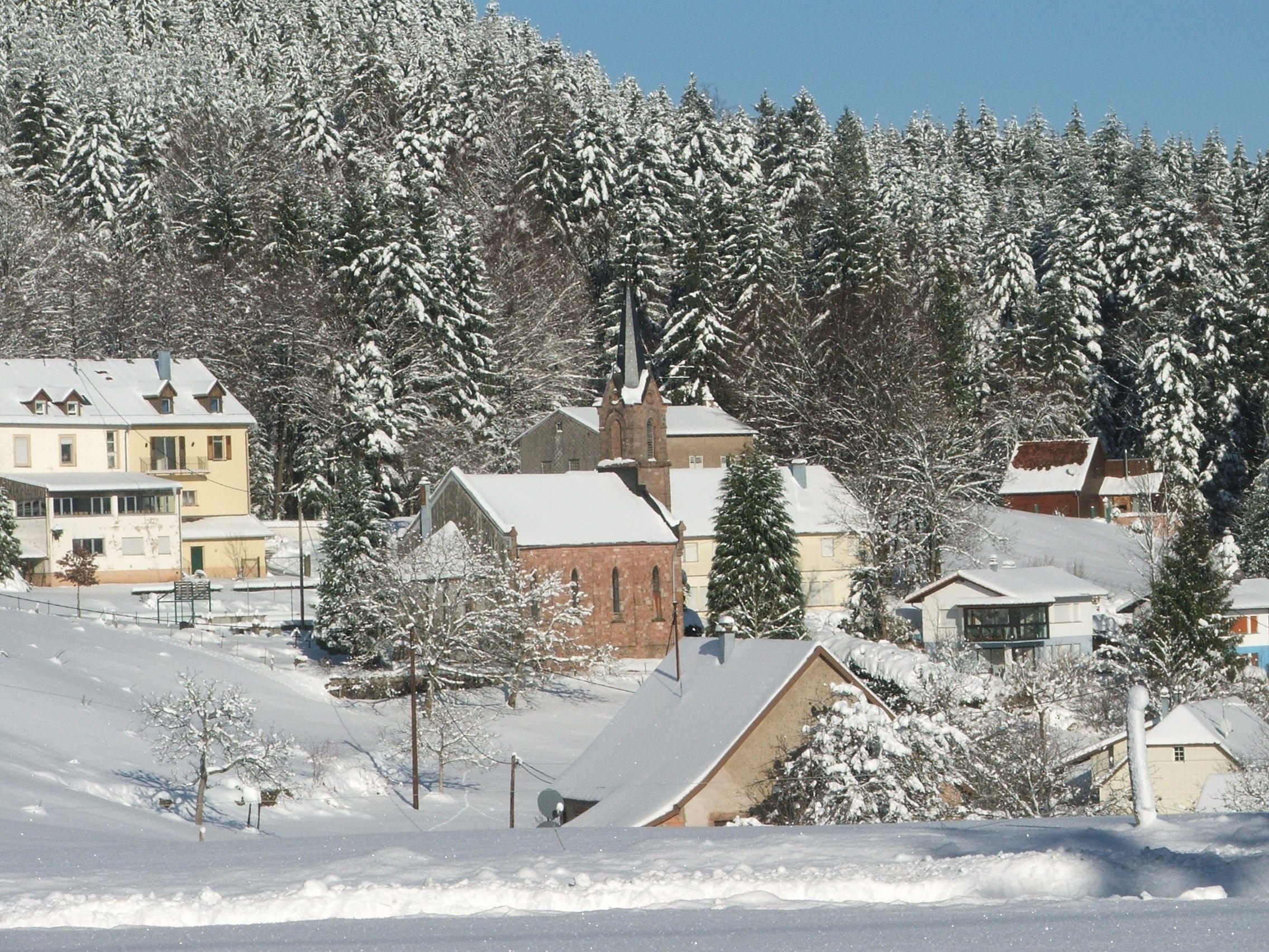 Temple du Climont dans le Bas-Rhin