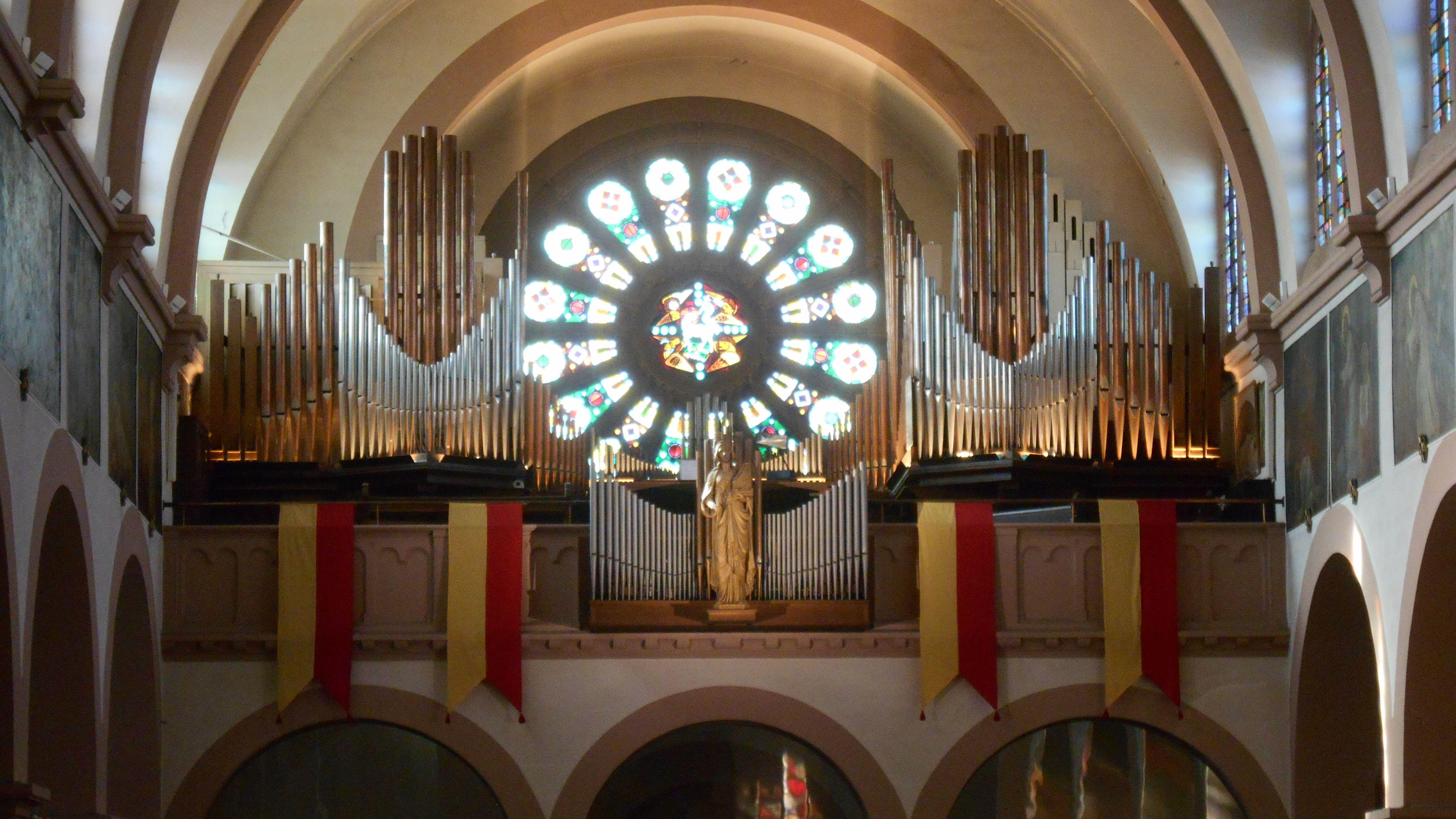 Orgue Schwenkedel de la basilique de Lutterbach