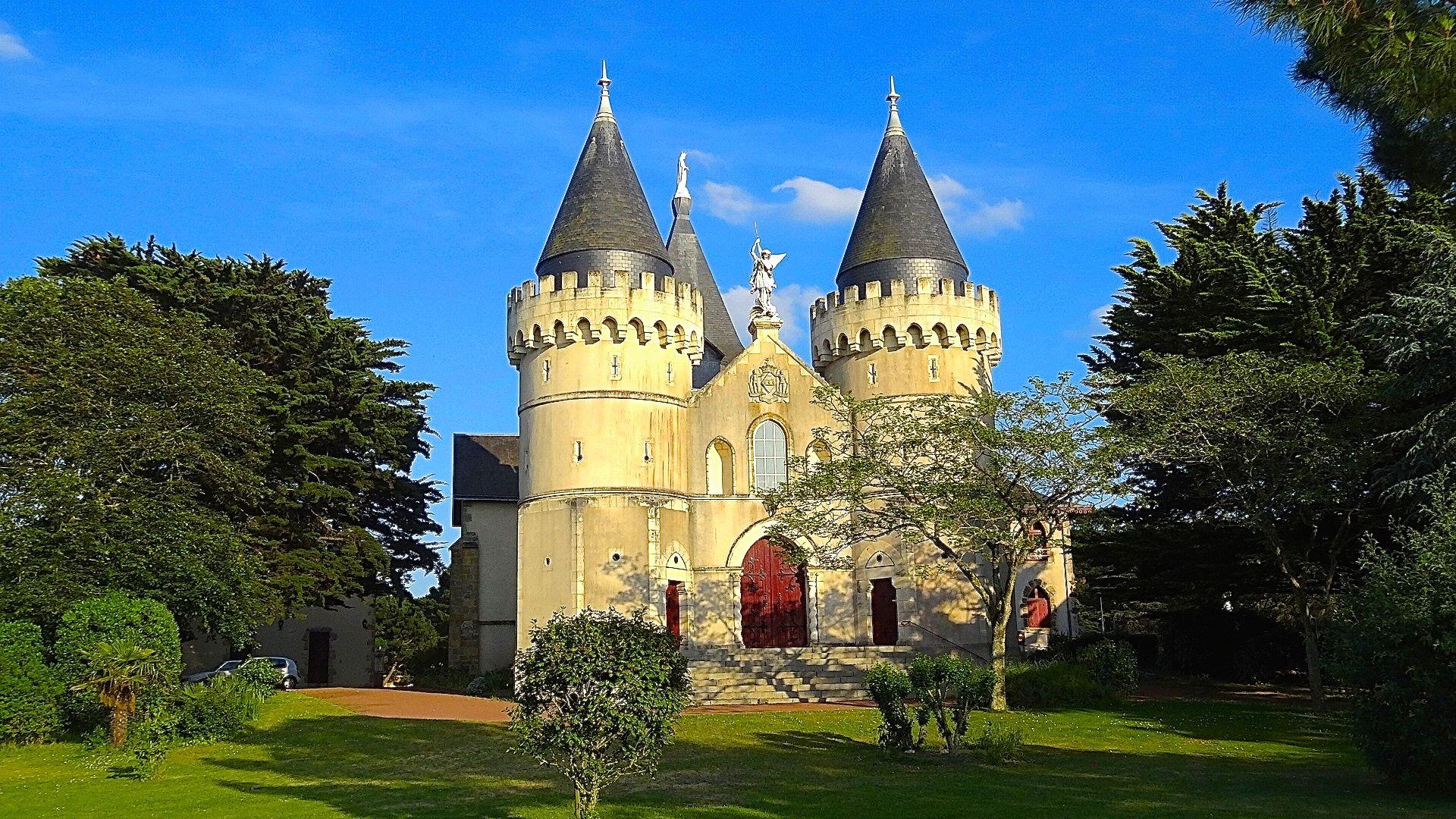 Chapelle Notre-Dame de l'Espérance de Bourgenay à Talmont-Saint-Hilaire