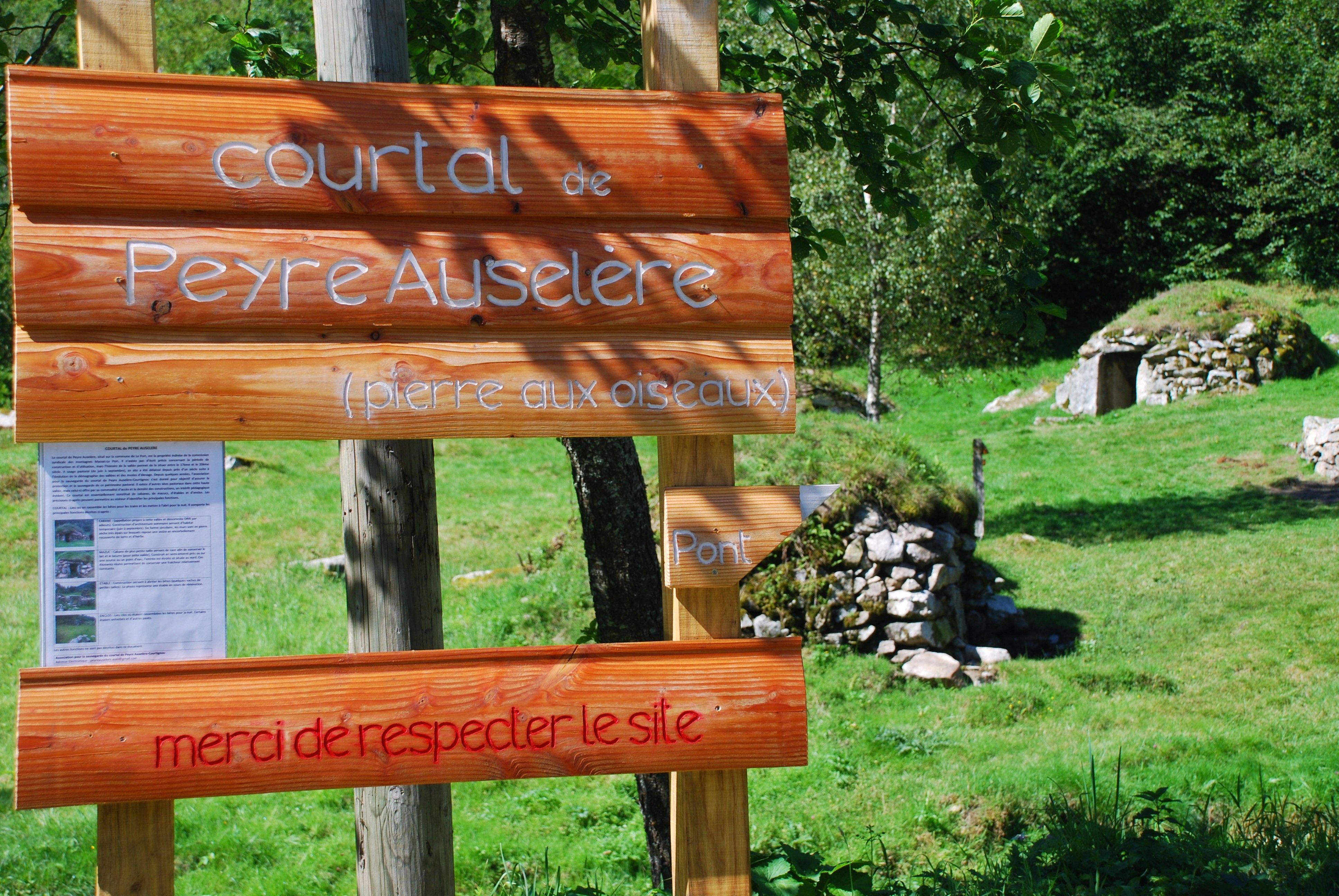 Courtal de Peyre Auselère dans l'Ariège
