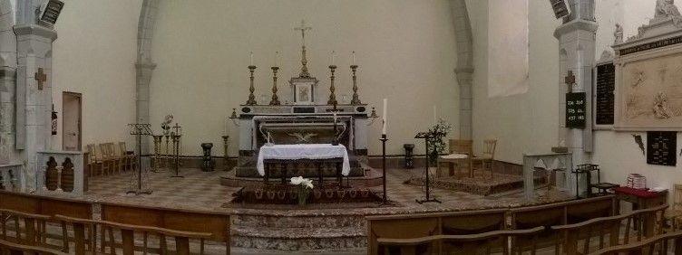 L'église Saint-Jean l'évangéliste du Poujol-sur-l'orb