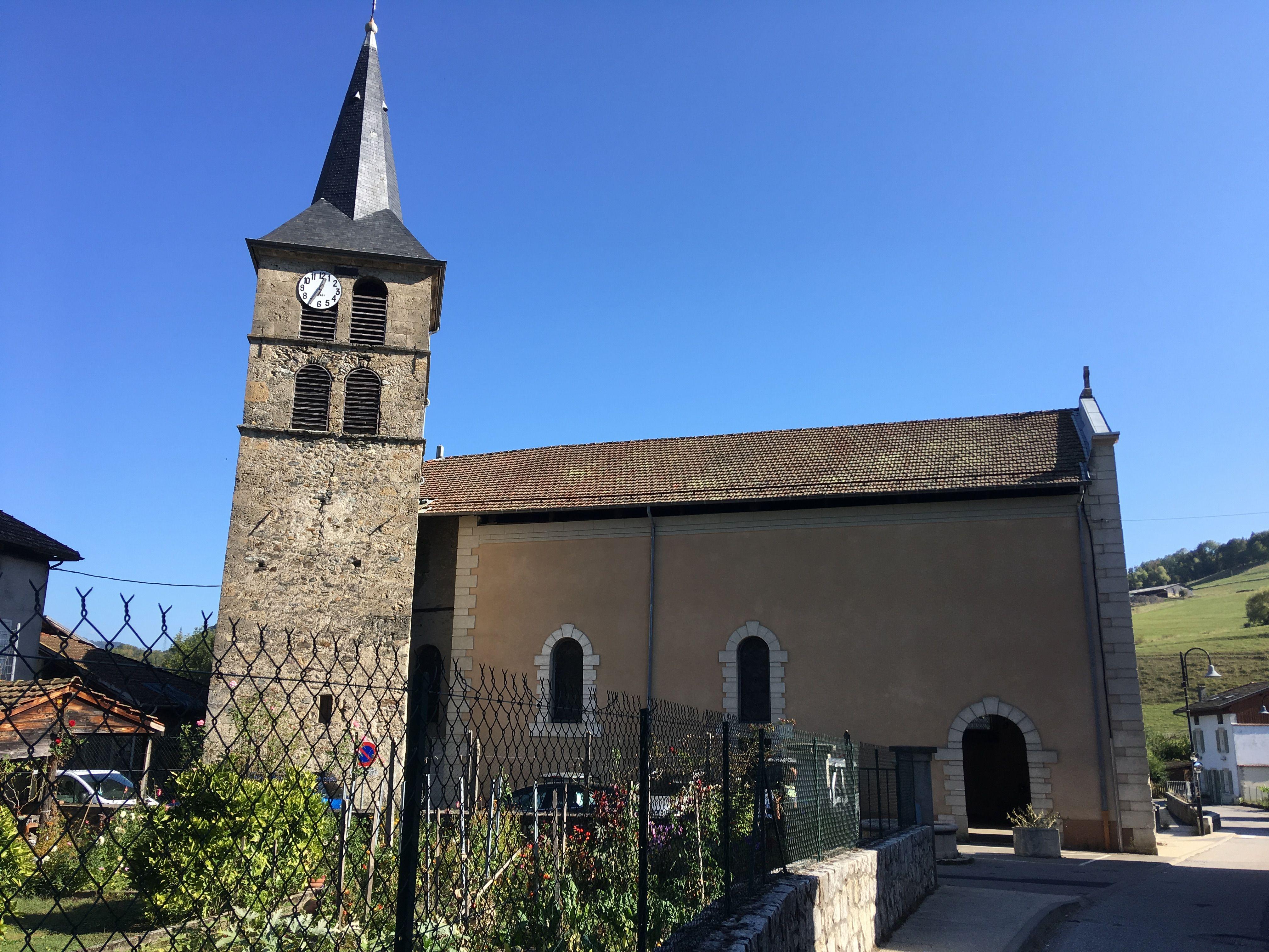 Eglise Sainte-Blaise à la Chapelle-du-Bard