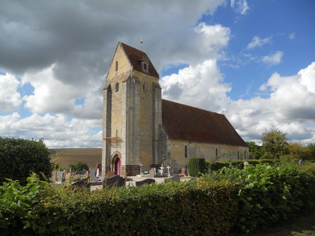 Église Sainte-Ceronne de Sainte-Céronne-les-Mortagne
