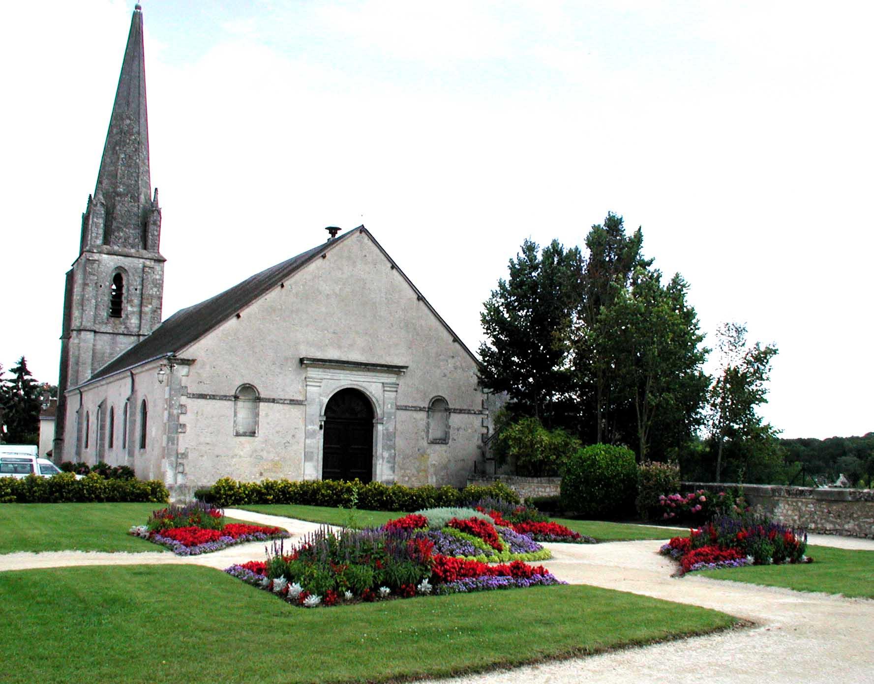 Eglise Saint-Denis de Thoré-la-Rochette