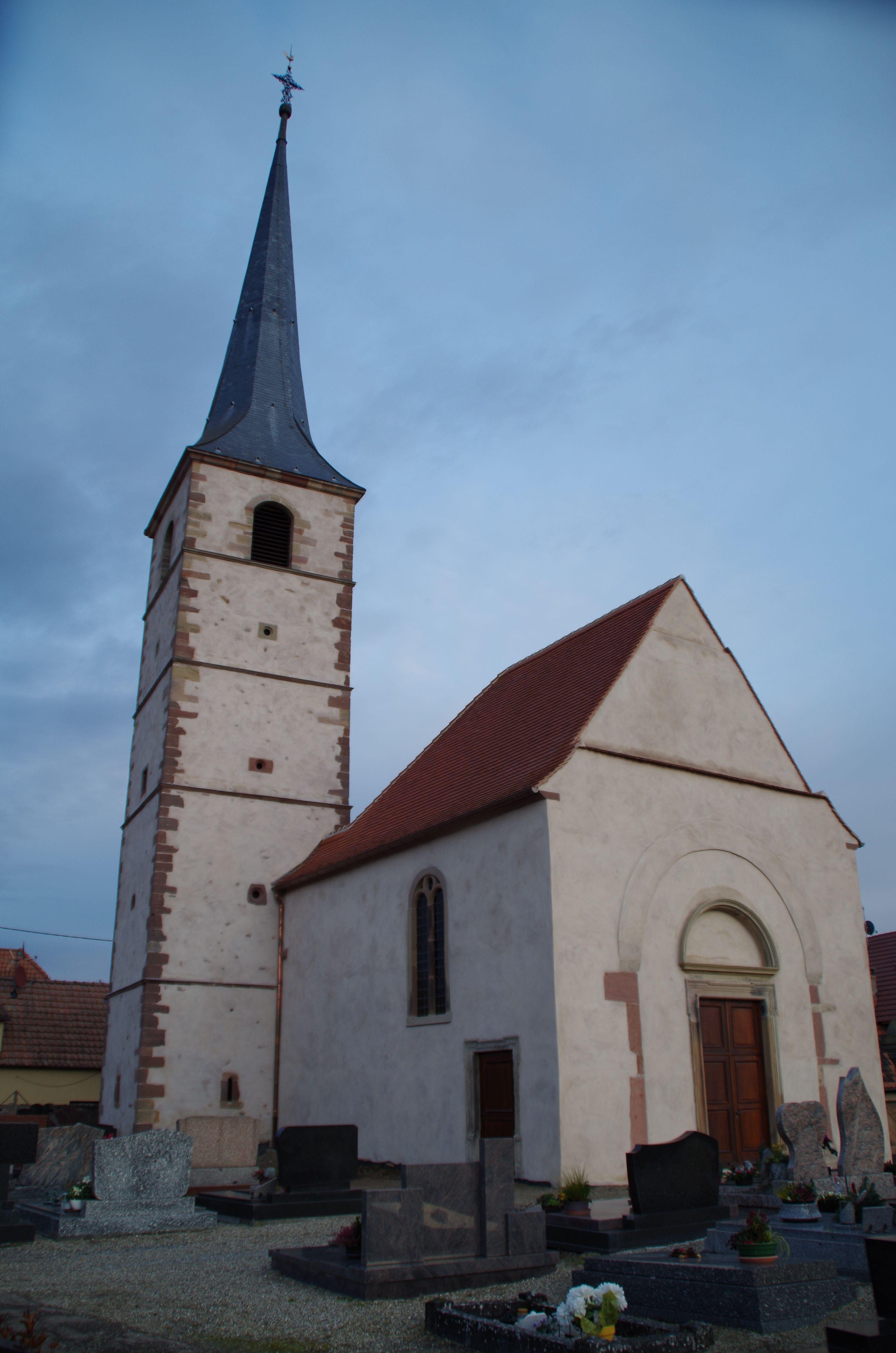 Chapelle Saint-André de Meistratzheim
