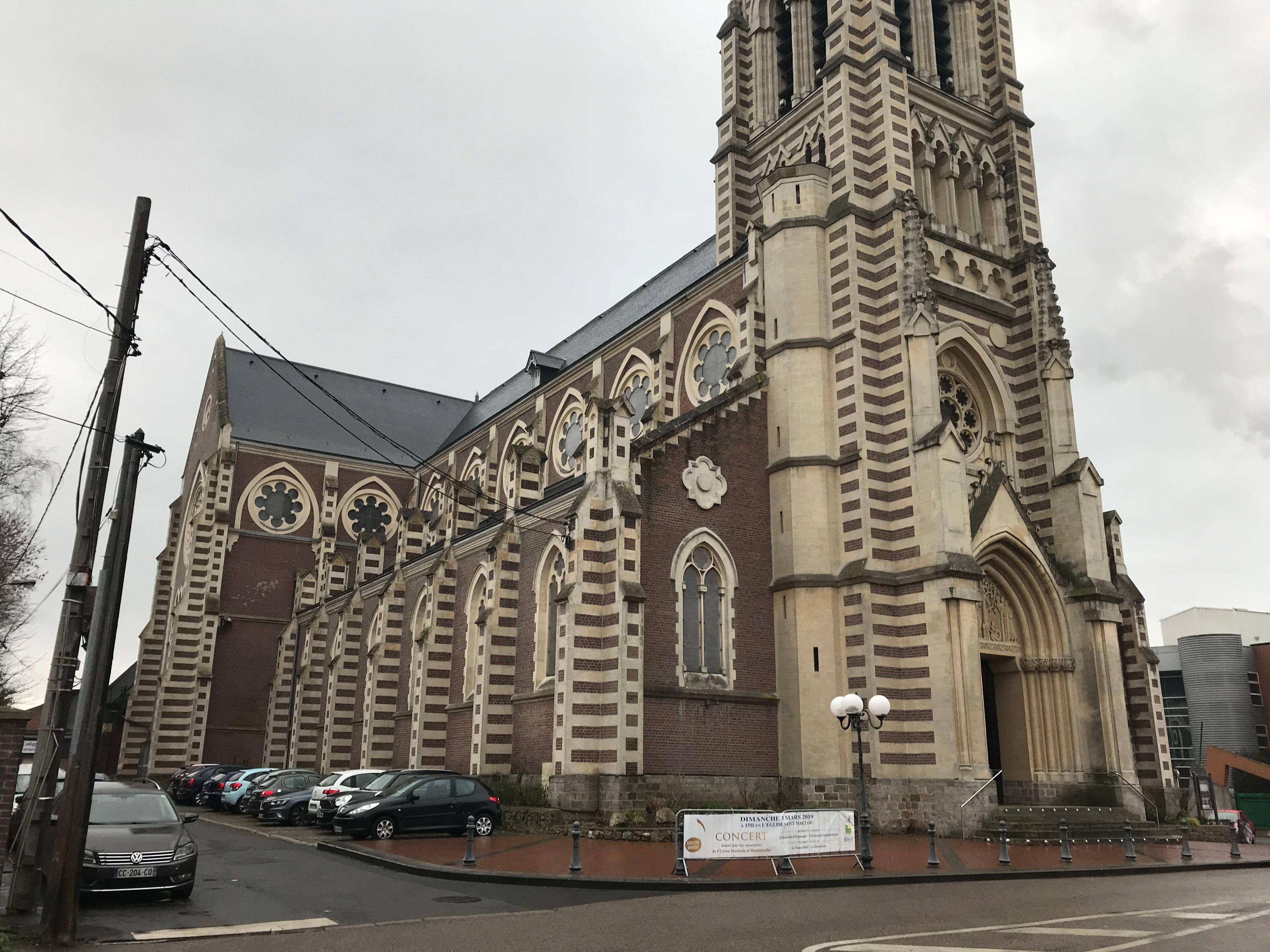Eglise Saint-Maclou d'Haubourdin dans la métropole lilloise