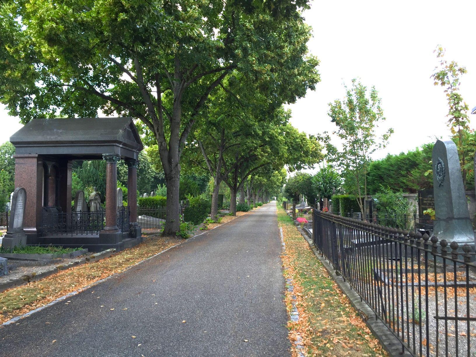 Monument Mieg au cimetière central de Mulhouse