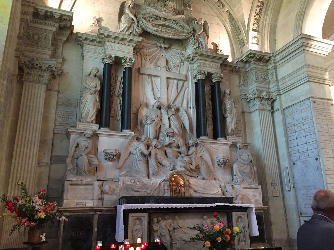 Retable de la chapelle royale des Ardilliers à Saumur