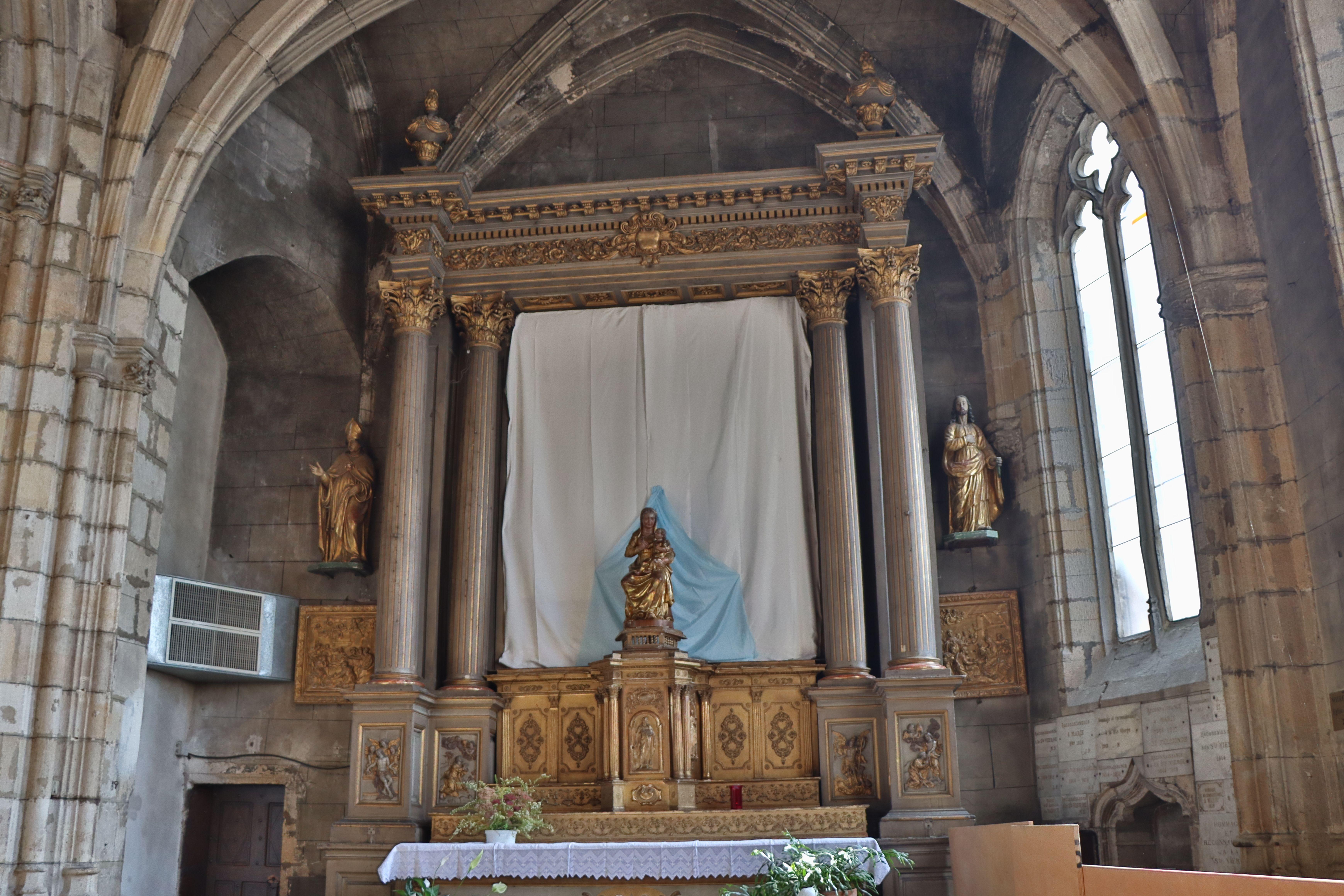 Retable de l'Assomption de l'église Notre-Dame à Montluçon