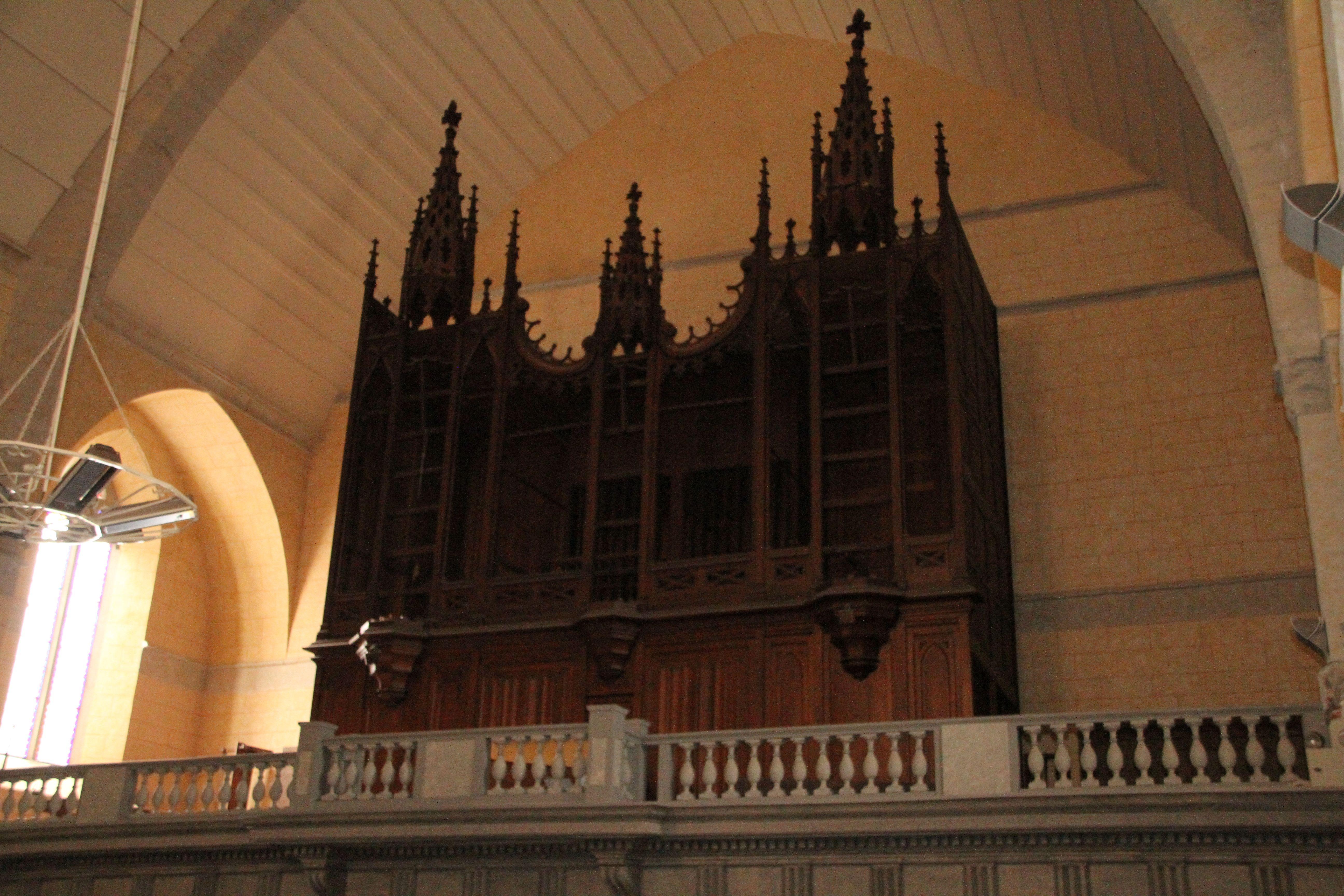 Orgue de l'église Saint-Jean-Baptiste à Tarbes