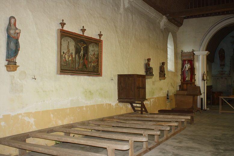 L'église de Saint-Denis-du-Béhélan