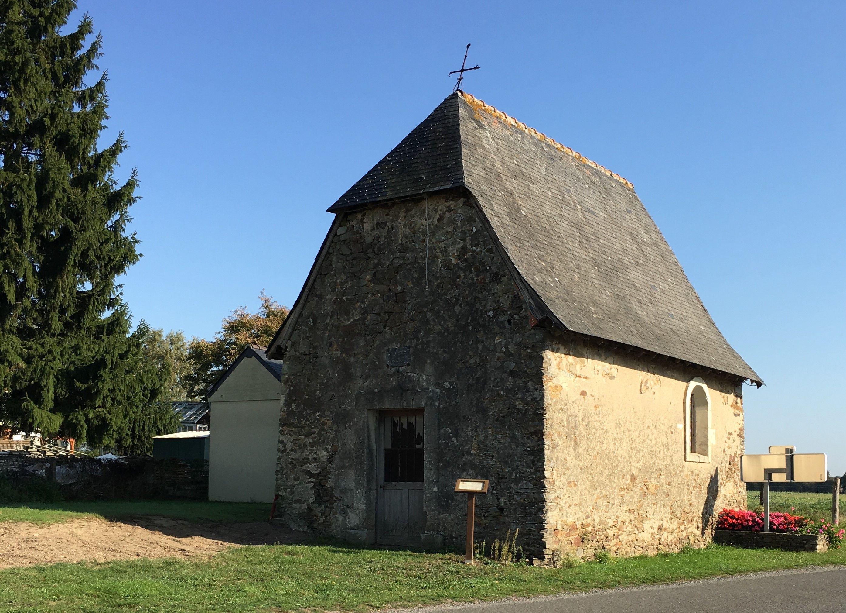 Chapelle du Buron au Bourg d'Iré - Segré en Anjou Bleu