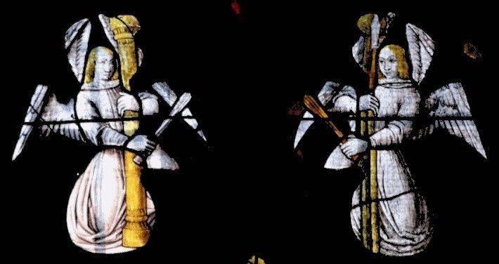 Vitraux de l'église de Montaiguet-En-Forez