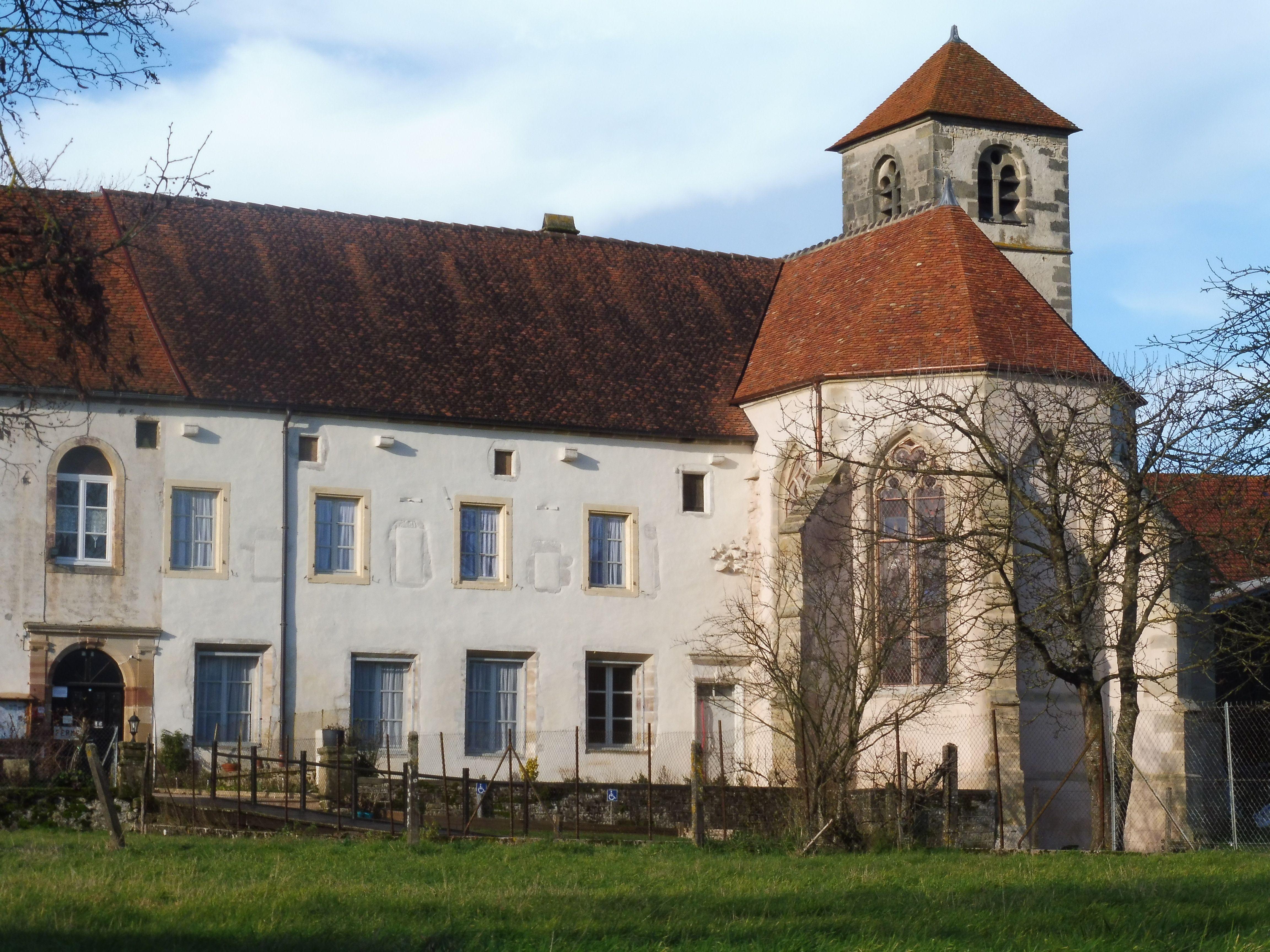Eglise du couvent des Cordeliers aux Thons dans les Vosges