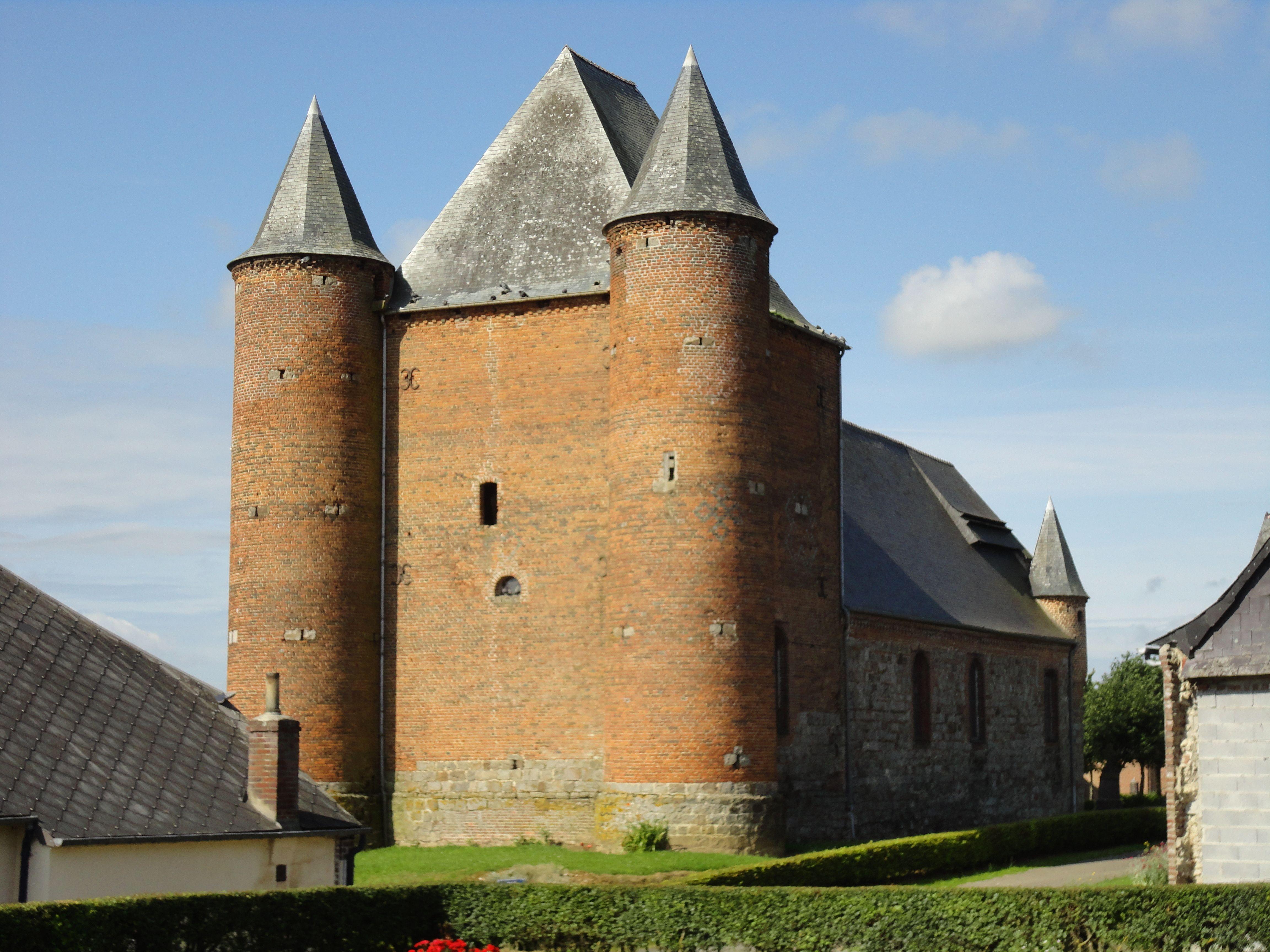 Eglise fortifiée Saint-Nicolas d'Englancourt
