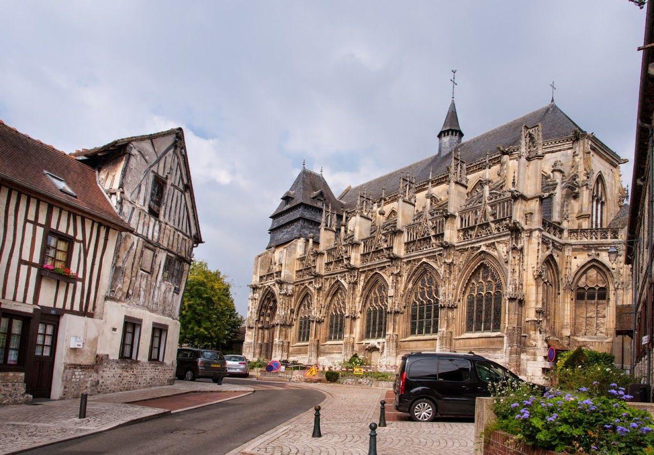 Église Notre-Dame des Arts - Pont de l'Arche