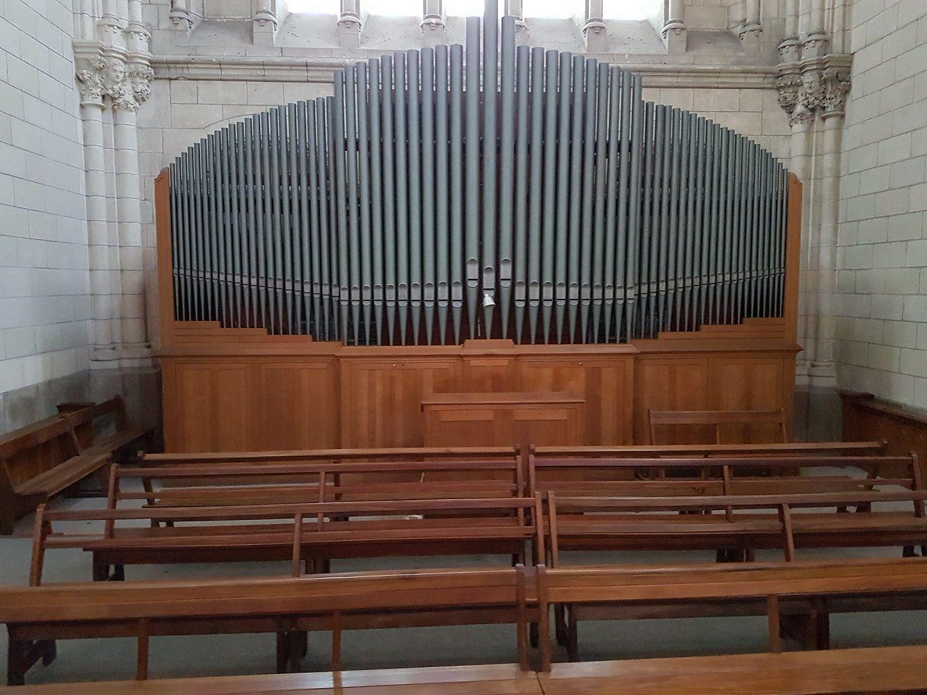 Orgue de l'église de Saint-Nazaire