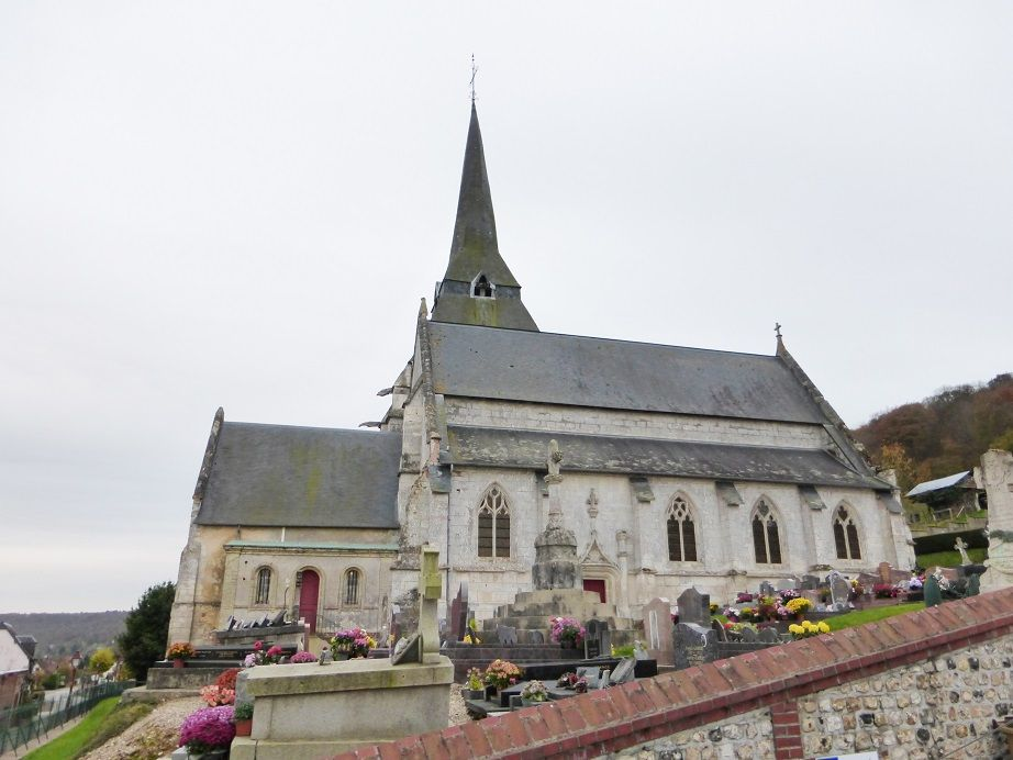 EGLISE SAINT LAURENT- LE MARAIS VERNIER