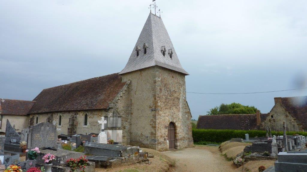 L'église Saint-Denis de Mahéru