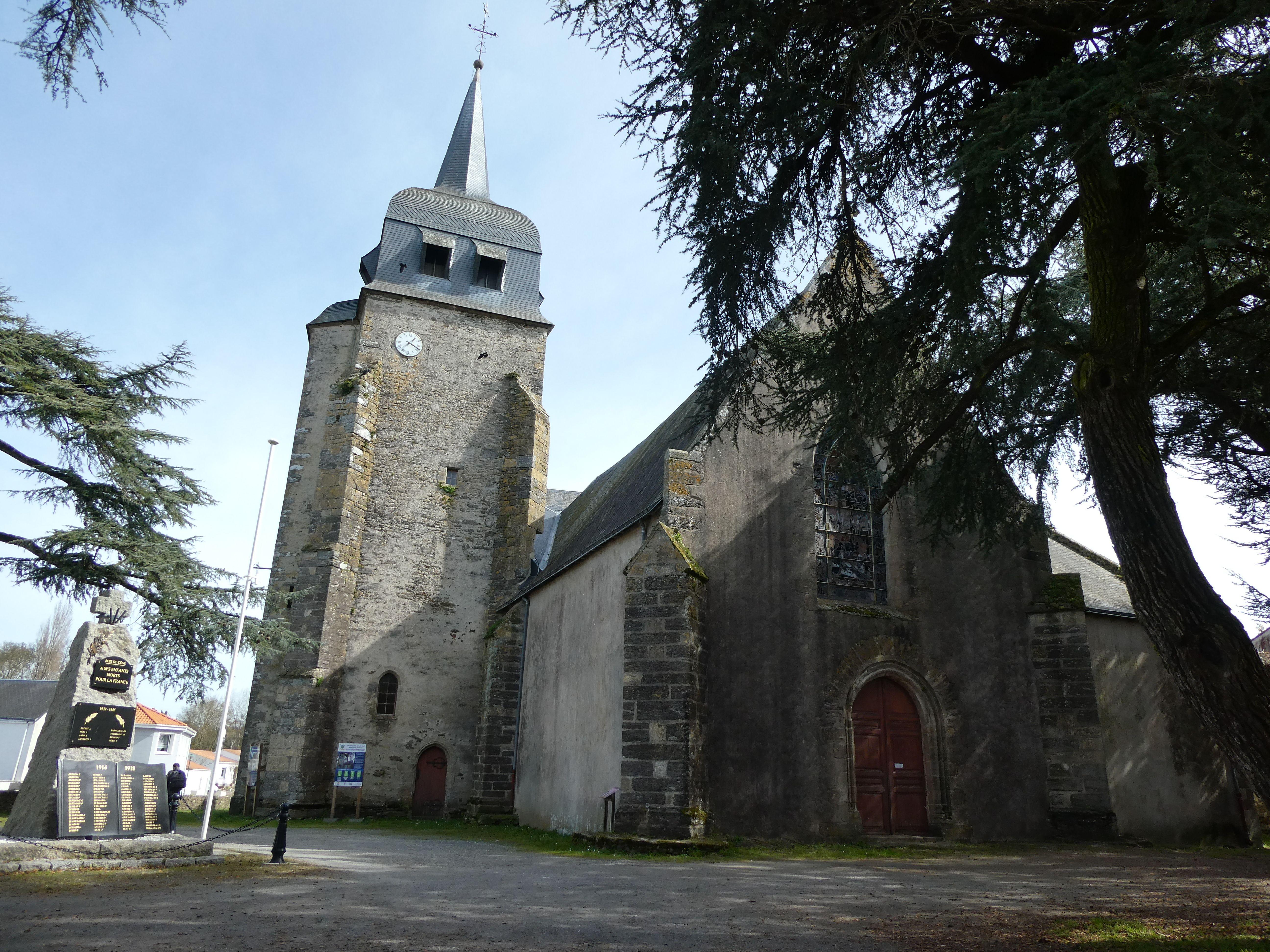 Eglise Saint Etienne du Bois-de-Céné en Vendée