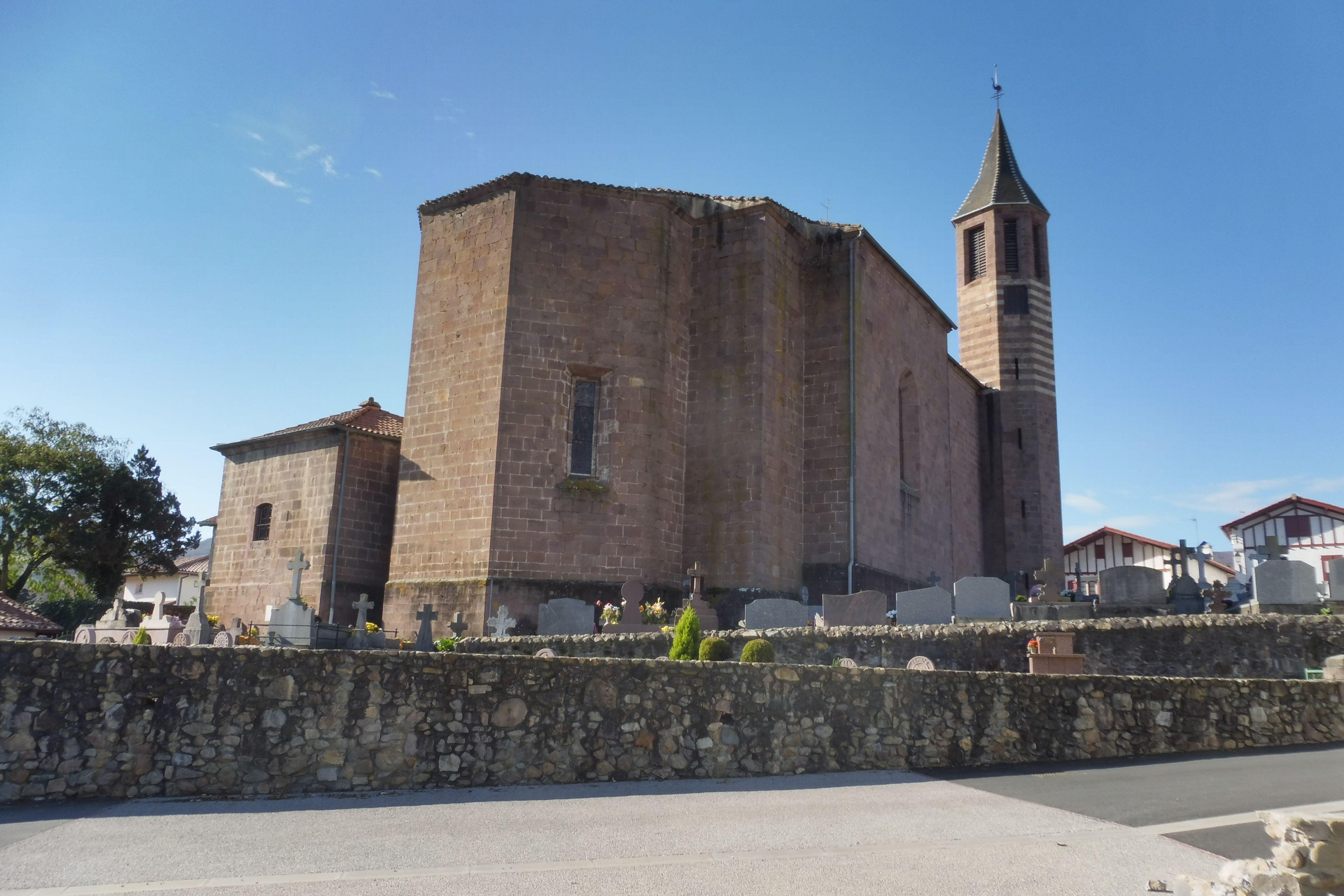Eglise Saint-Julien d'Antioche à Ossès