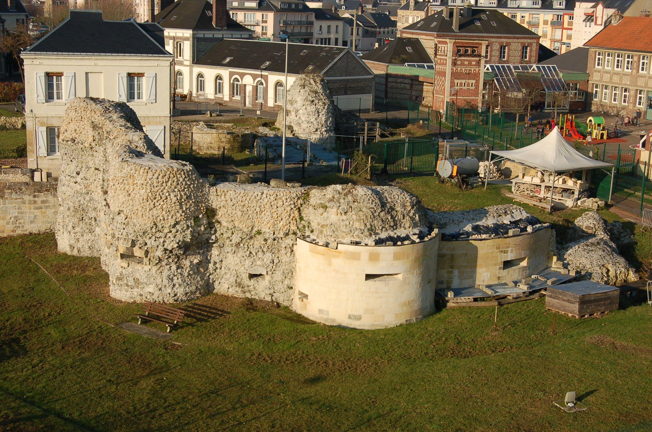 La porte de Rouen d'Harfleur