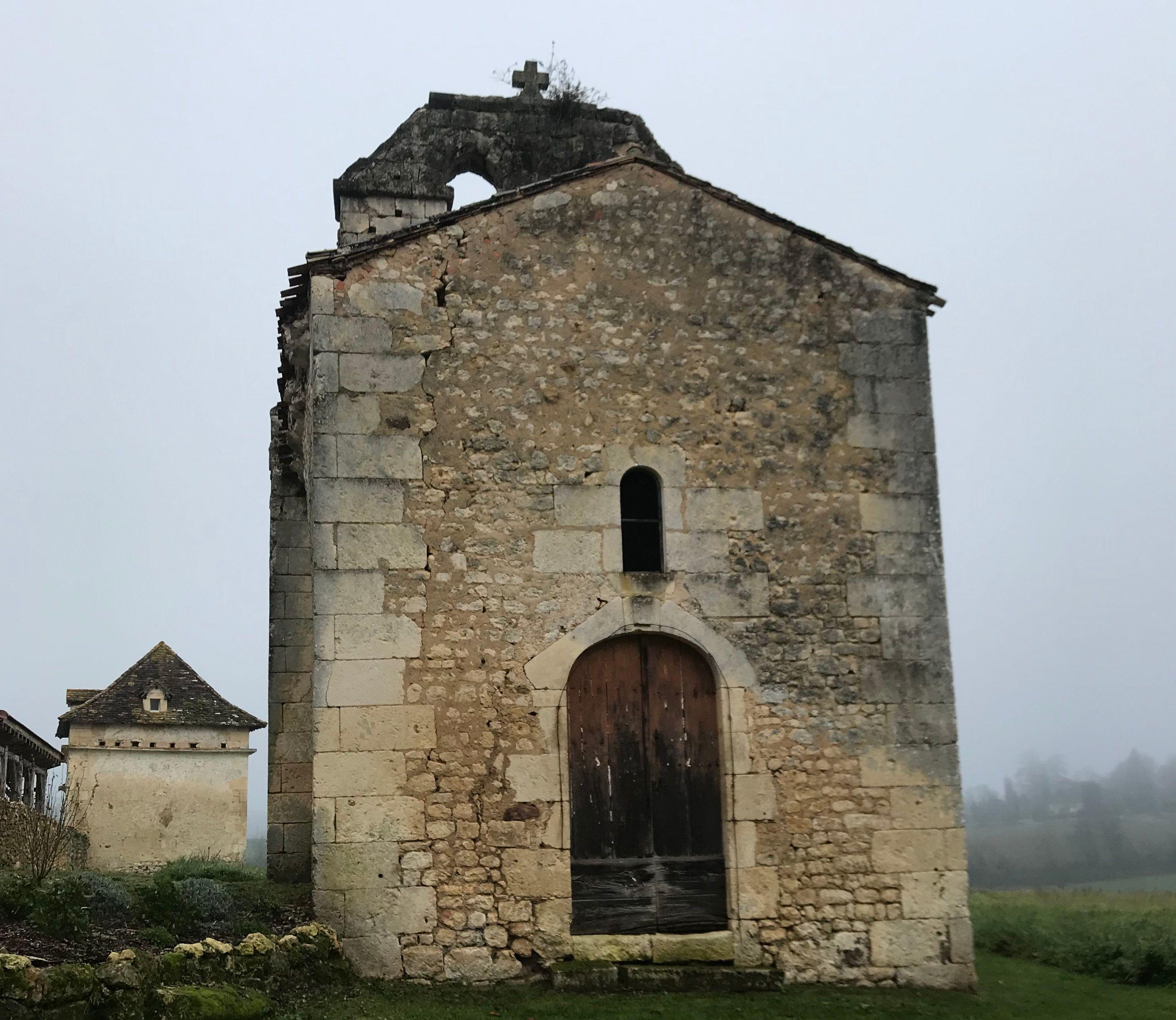 Chapelle Sainte-Marie de Gueyrals à Montagnac-La-Crempse