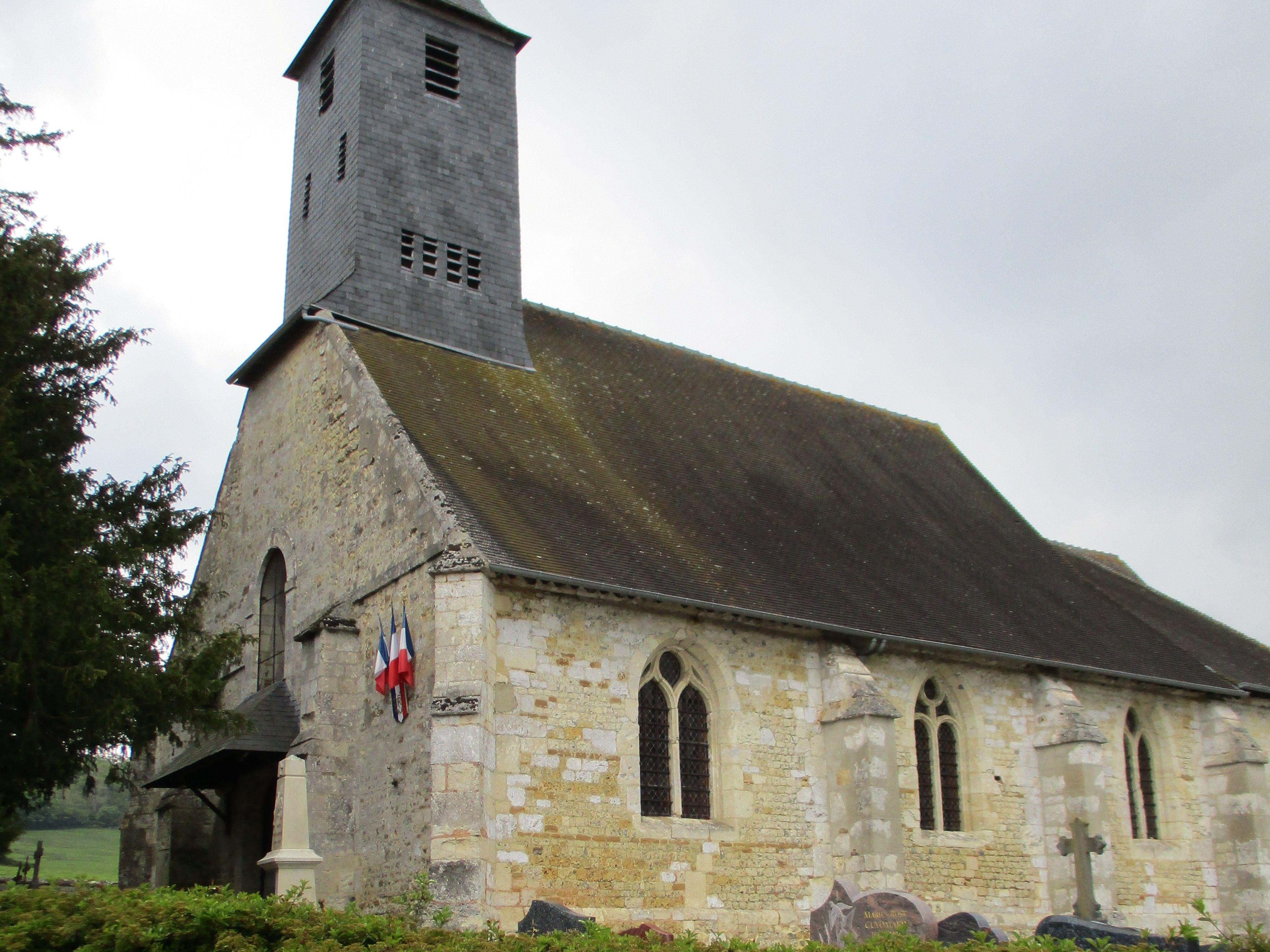 L'église Saint-Martin de Surville