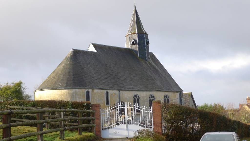 L'église de Saint-Martin-des-Pezerits