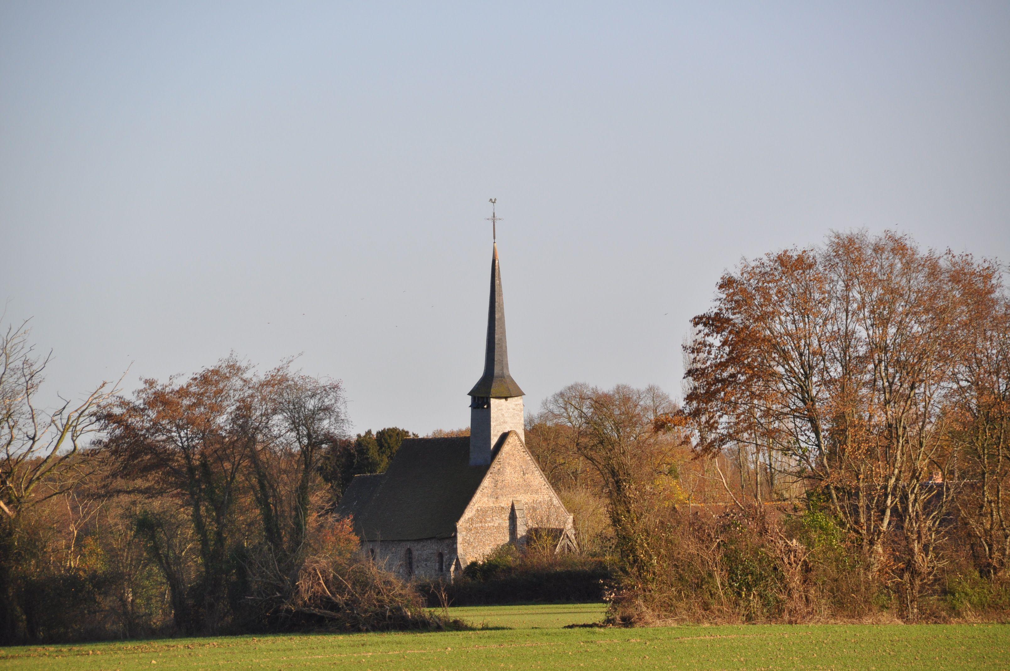 Église de Saint-Ouen-de-Mancelles de Gisay-la-Coudre, commune déléguée de Mesnil-en-Ouche