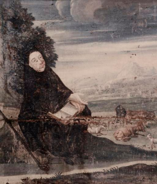 Tableau de Saint Marien à Saint-Fargeau
