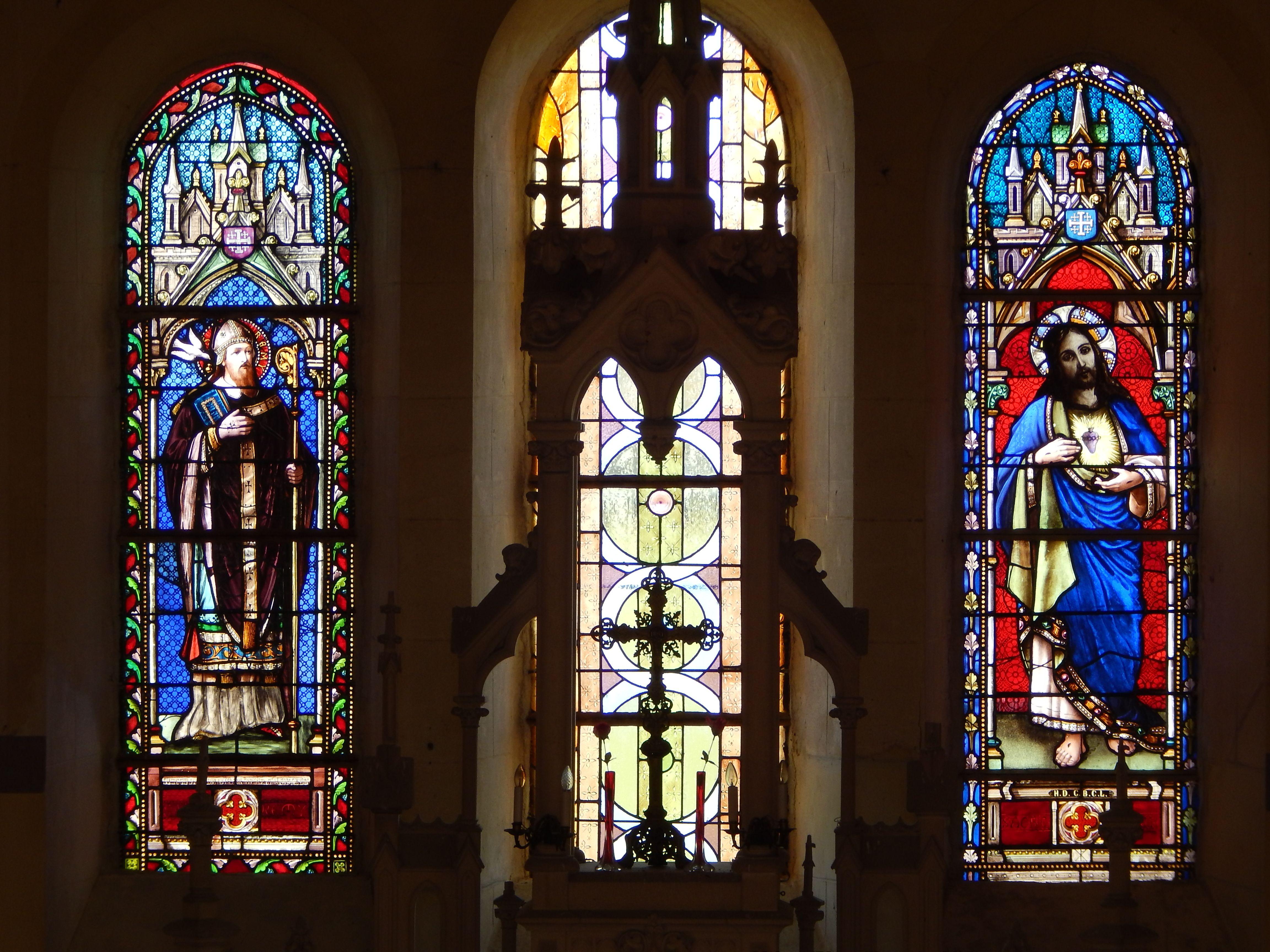 Vitraux de L'Eglise de Coucy