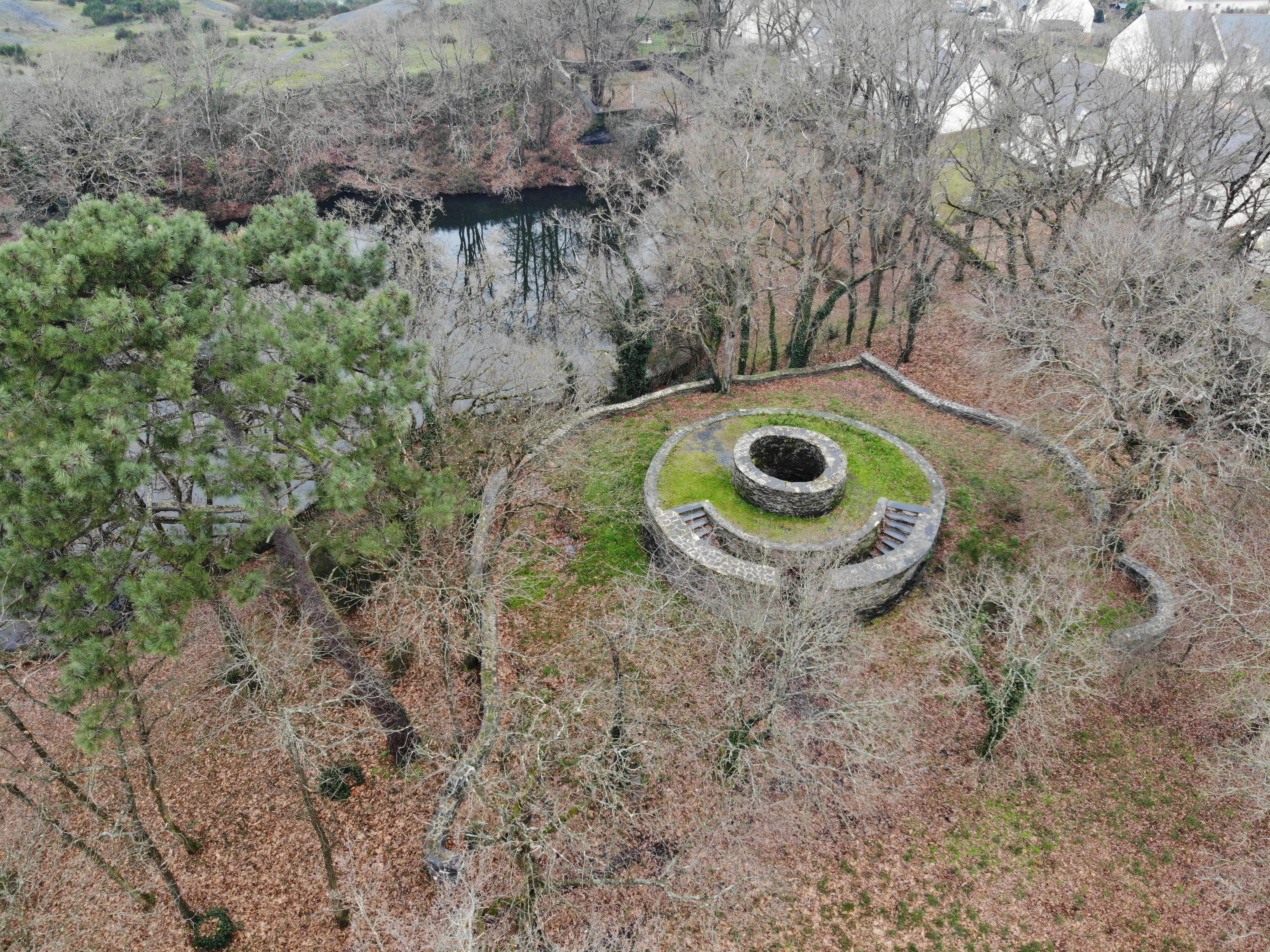 Moulin d'exhaure de l'Union à Trélazé